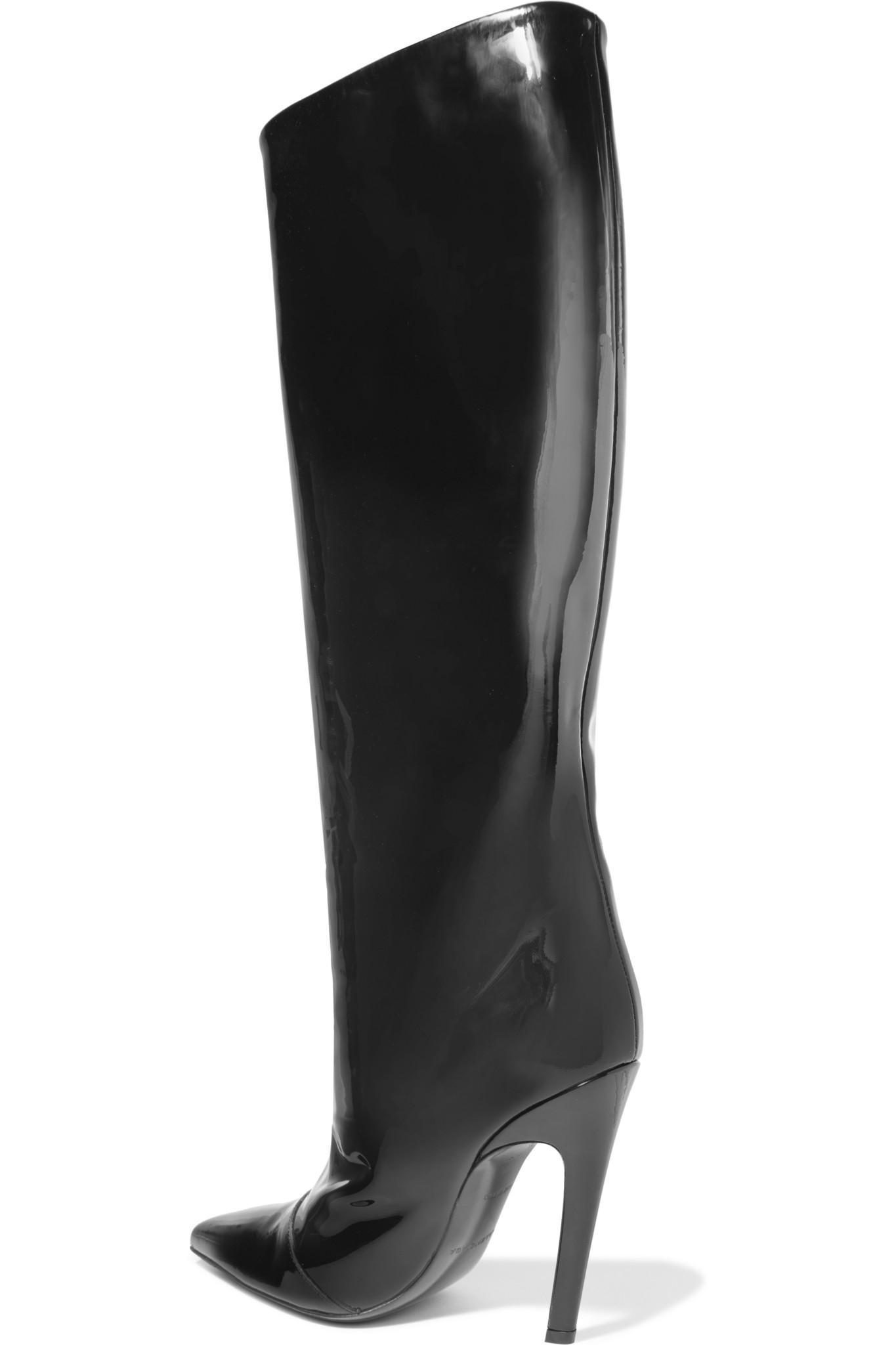 9d74c4a8a6151 Balenciaga Unit Leather Biker Ankle Boot in Black