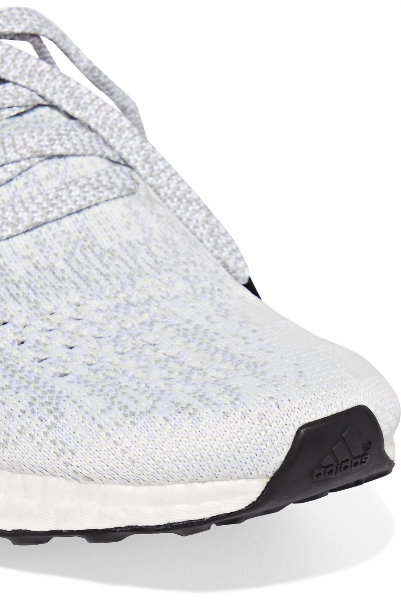 8cdbd1b4e934 adidas Originals Ultraboost Uncaged Primeknit Sneakers in White - Lyst