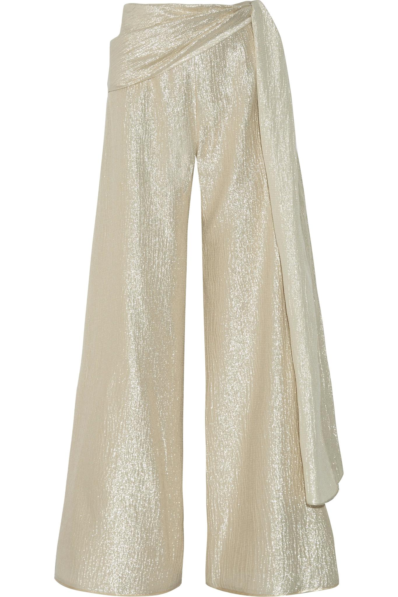 Wide Leg Pants sets itself from the previous version of the signature with a new and sleeker material than ever before. Whether it be worn for a relaxing laid-back day .