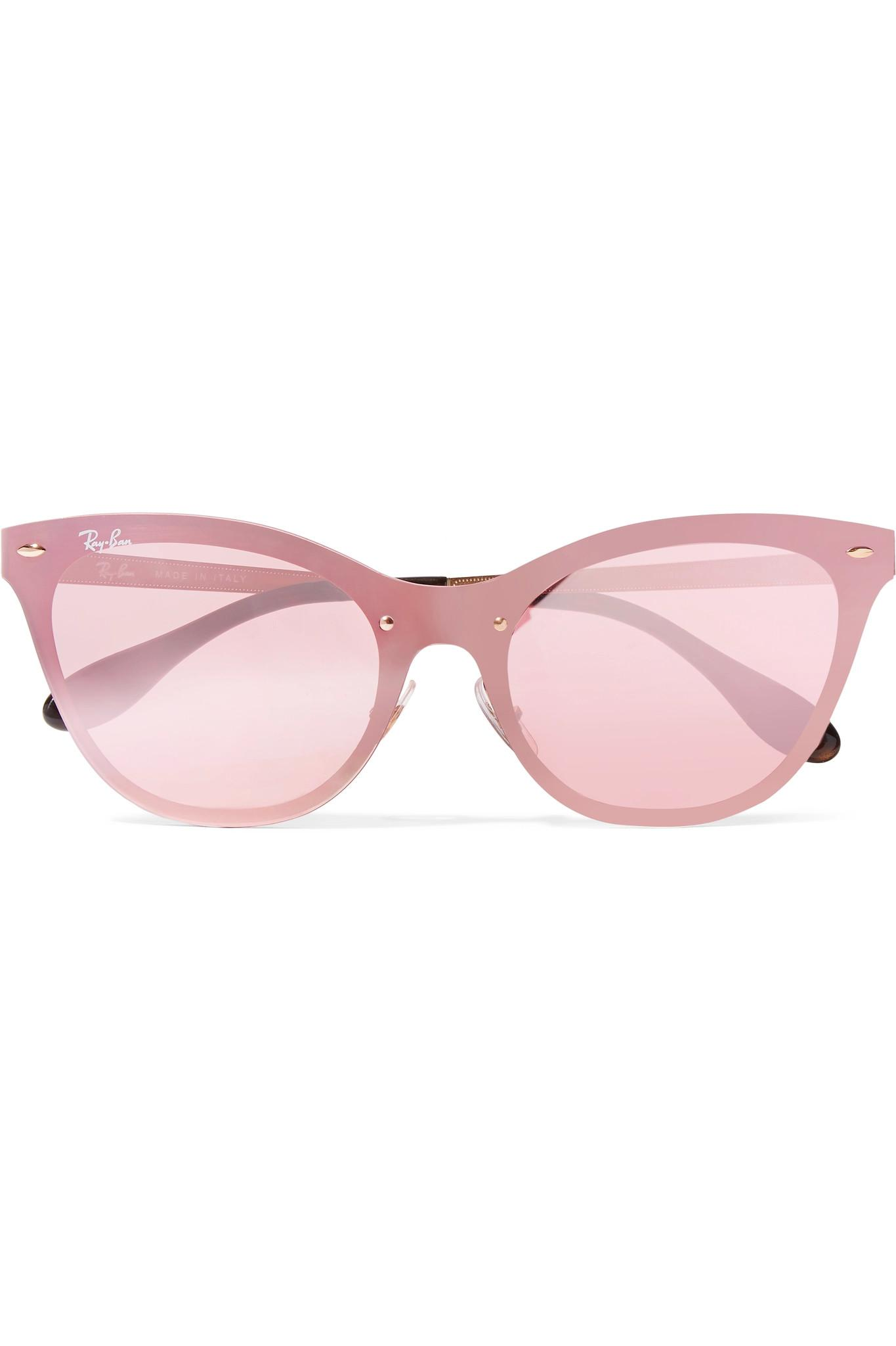 088bc2be387 Gallery. Previously sold at  NET-A-PORTER · Women s Acetate Sunglasses  Women s Cat Eye Sunglasses Women s Ray Ban ...