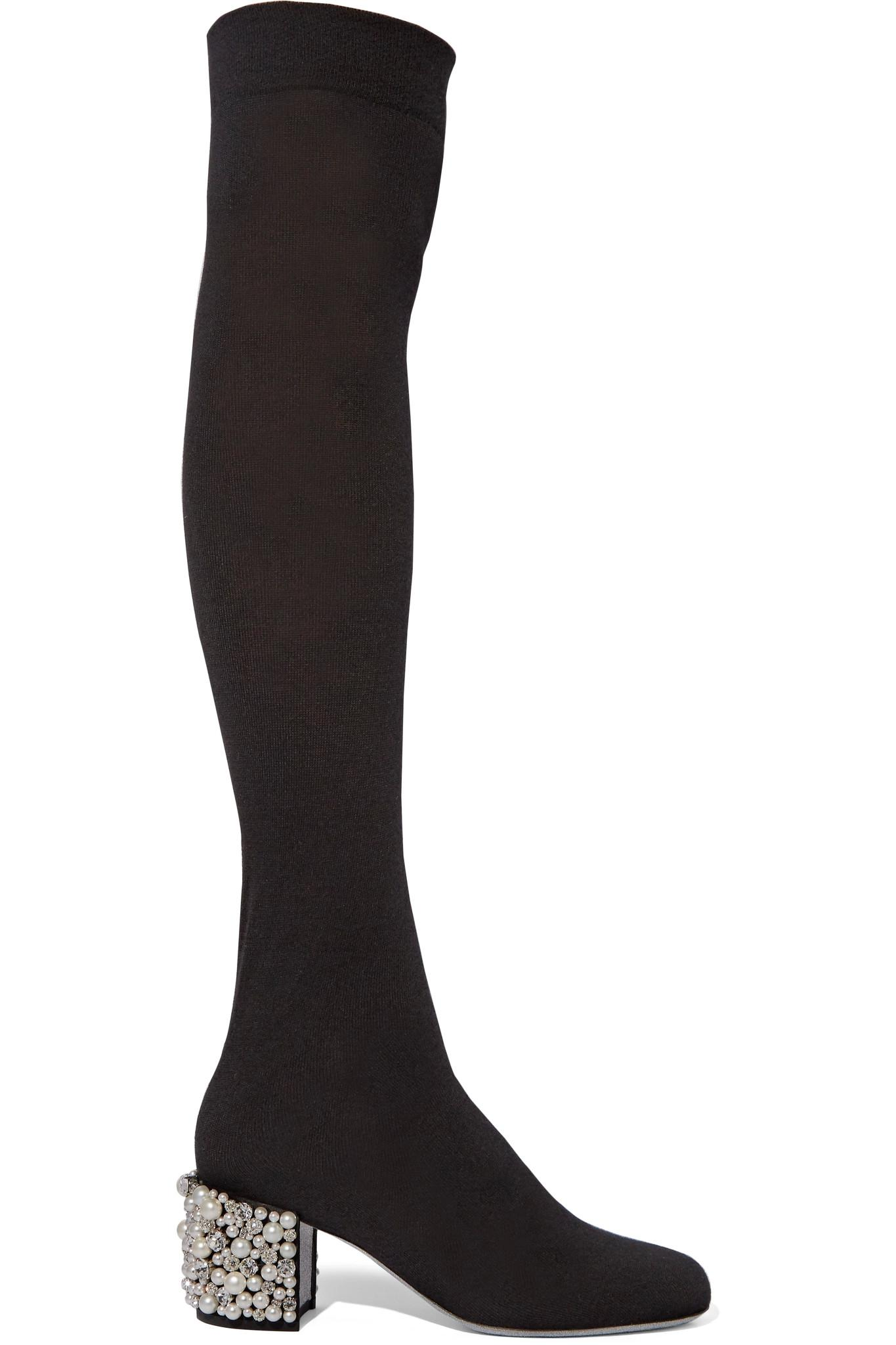 René Caovilla Rene Caovilla Embellished Sock Boots discount for sale recommend cheap online outlet excellent NEpxFegNRw