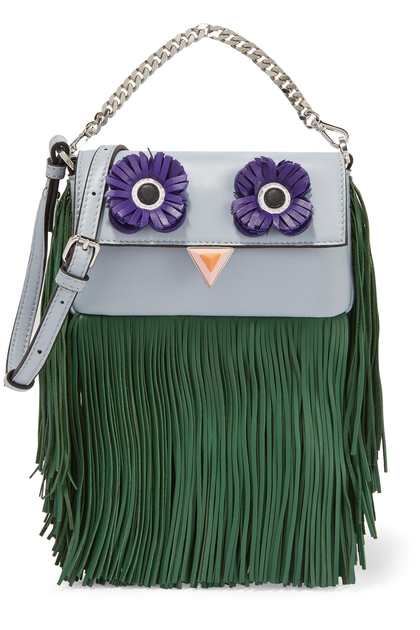 2654cabe4d3 Gallery. Previously sold at  NET-A-PORTER · Women s Fringed Bags Women s Micro  Bags Women s Fendi ...