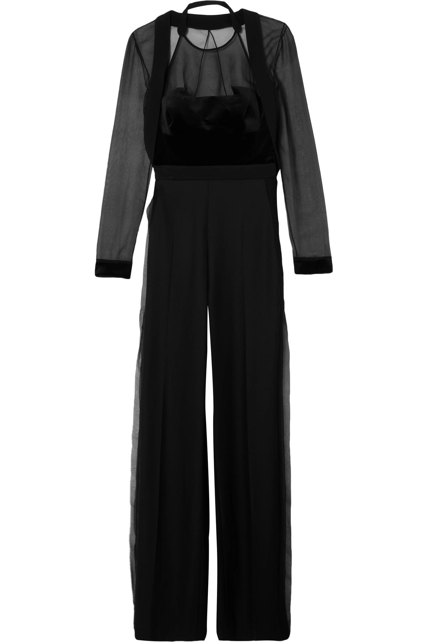 664aa194fd8b Antonio Berardi. Women s Black Wool-crepe ...