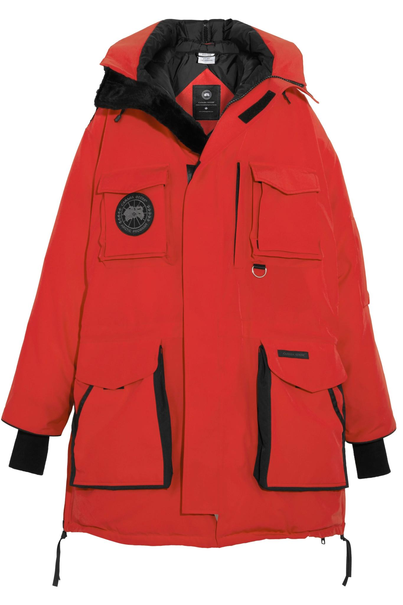 canada goose vetements red