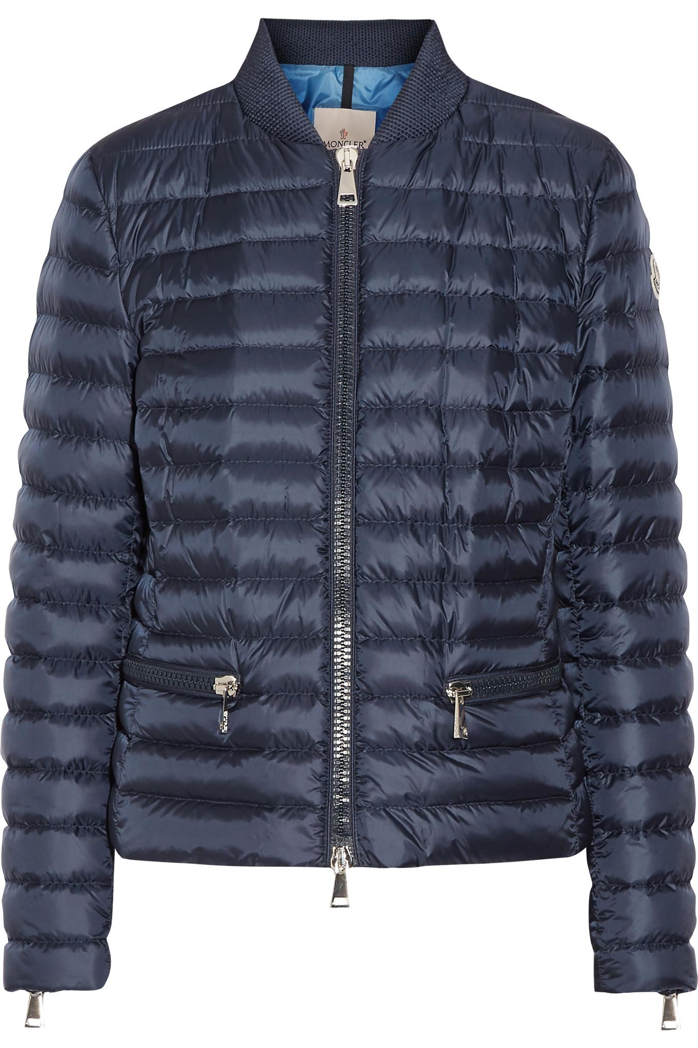 Moncler Blen Quilted Shell Down Jacket In Blue Lyst