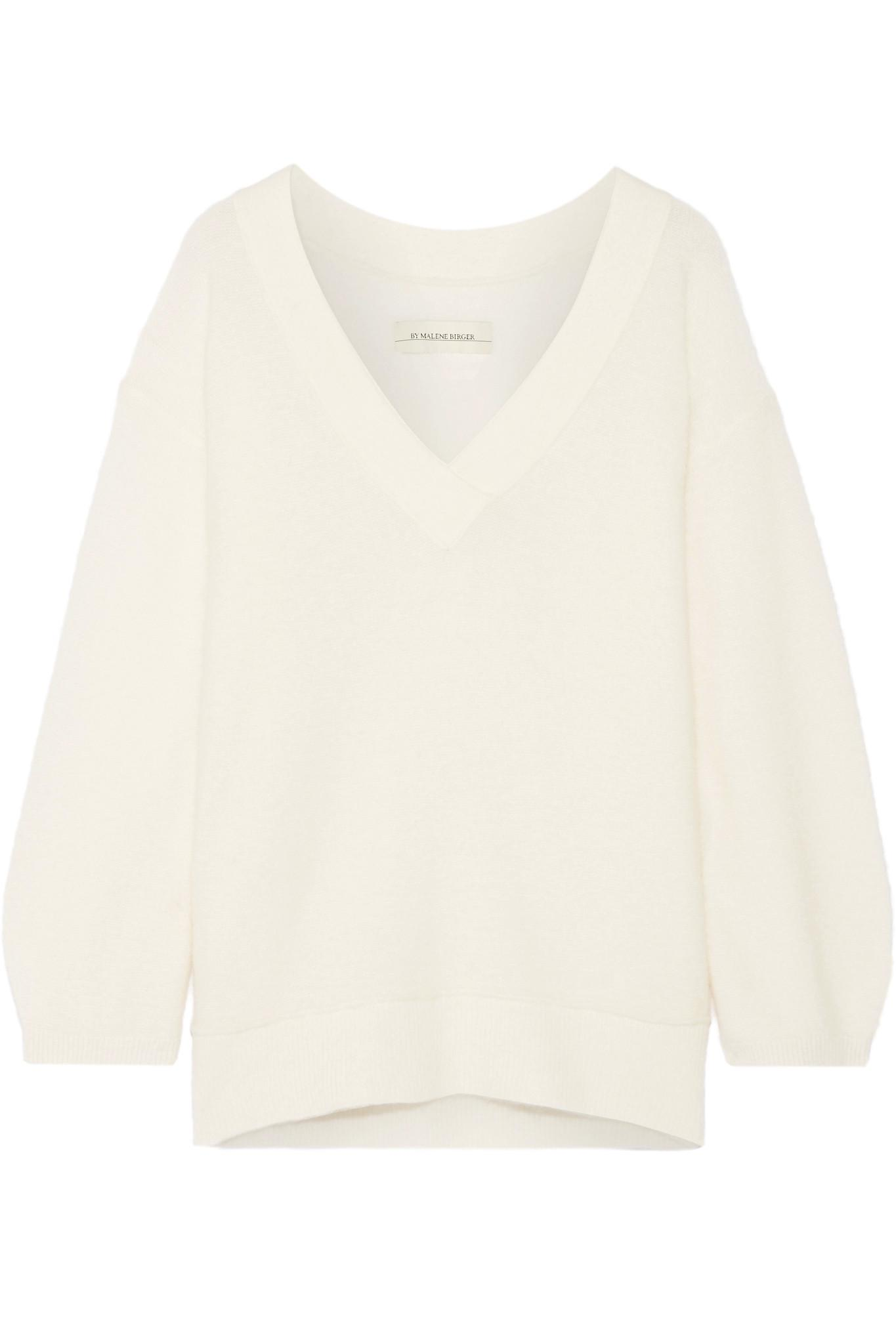 By malene birger Mijiha Oversized Stretch-knit Sweater in Natural ...