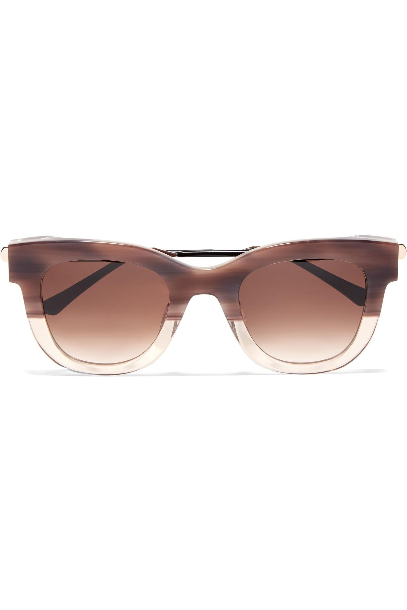 ca85b58cb5 Thierry Lasry. Women s Pink Sexxxy Cat-eye Acetate And Gold-tone Sunglasses