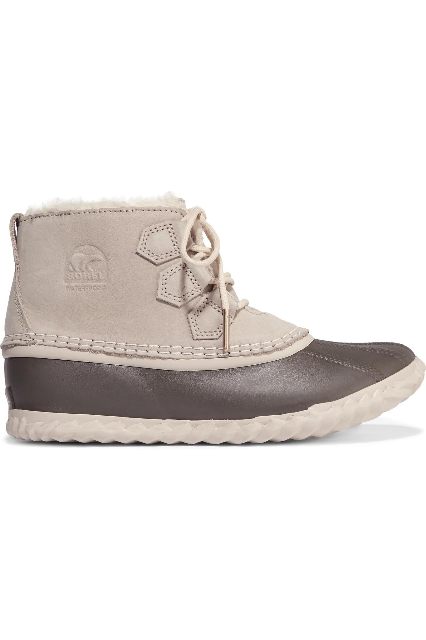 Sorel - Out N About - Bottines plates imperméables - Beige - Beige rz041