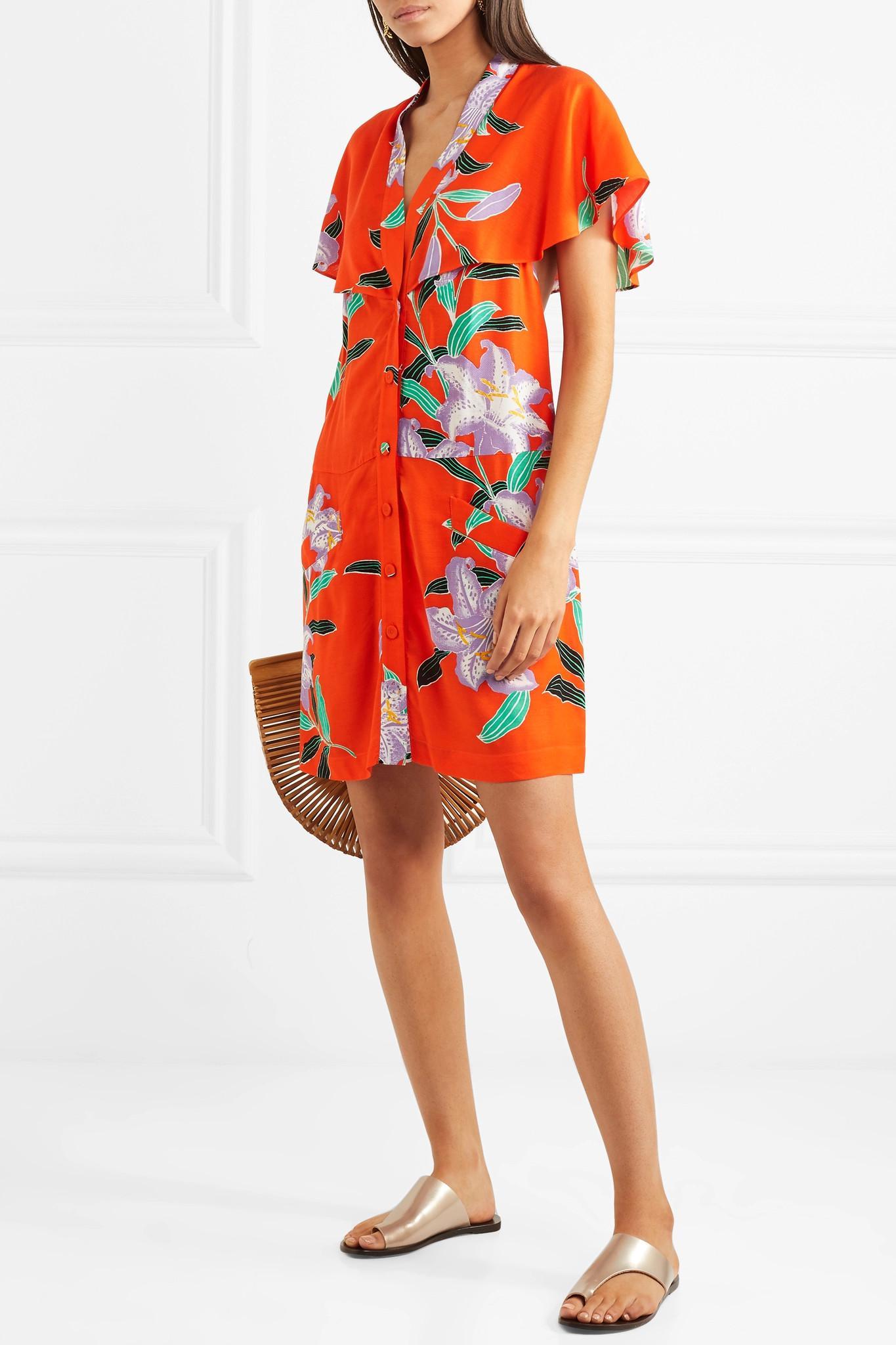 ee1a91794fb00 diane-von-furstenberg-papaya-Cape-effect-Cutout-Floral-print-Twill-Mini- Dress.jpeg