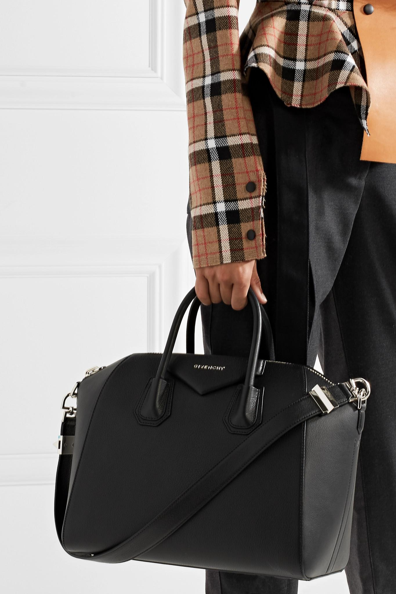 e7a8074a52b Givenchy - Black Antigona Medium Leather Tote - Lyst. View fullscreen