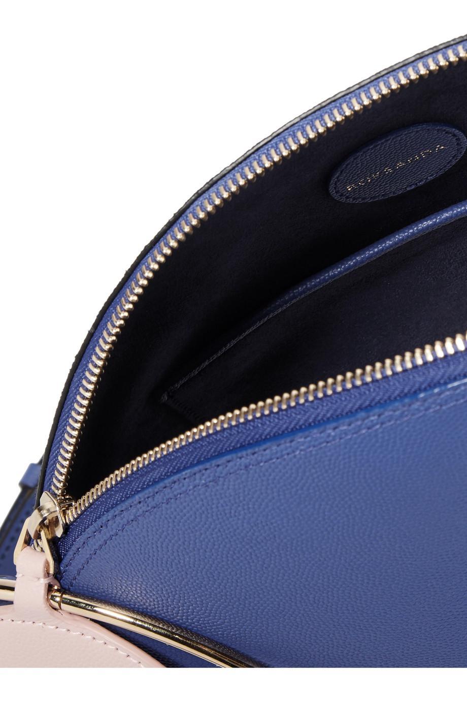 Eartha Couleur Bloc Moyen Sac À Bandoulière En Cuir Texturé - Ilincic De Roksanda Bleu Vif UTaBb9IqJ2