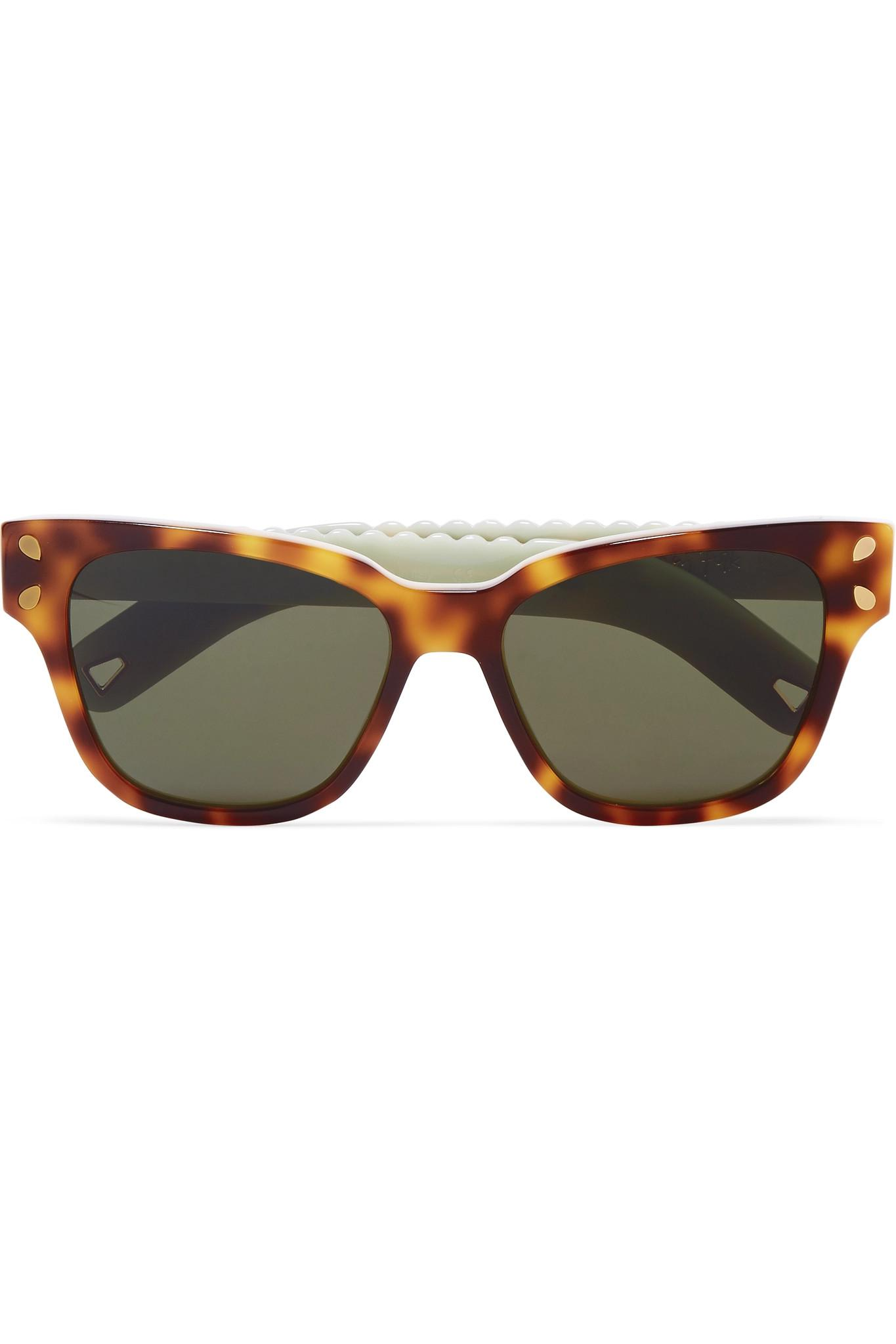 13ec35537d Lucy Folk Diving For Gold Cat-eye Tortoiseshell Acetate Sunglasses ...