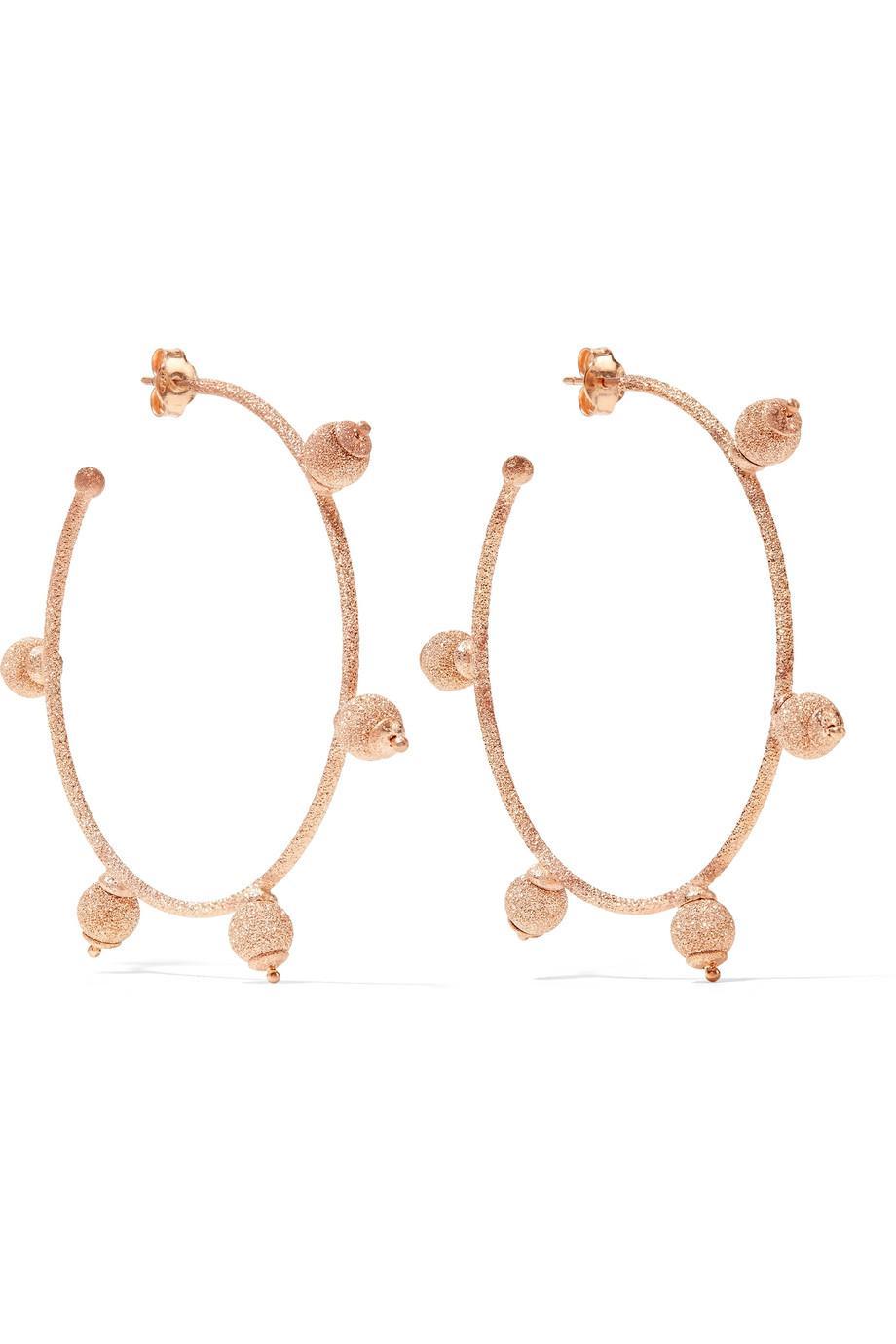 Carolina Bucci 18-karat Rose Gold Earrings WumeG3z
