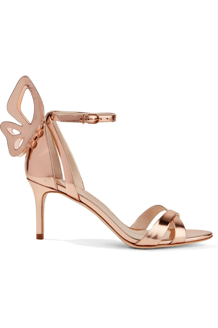Madame Chiara Metallic Leather Sandals - Rose gold Sophia Webster Choice For Sale Outlet Looking For Wiki Cheap Online View Cheap Price HqiBoi1u
