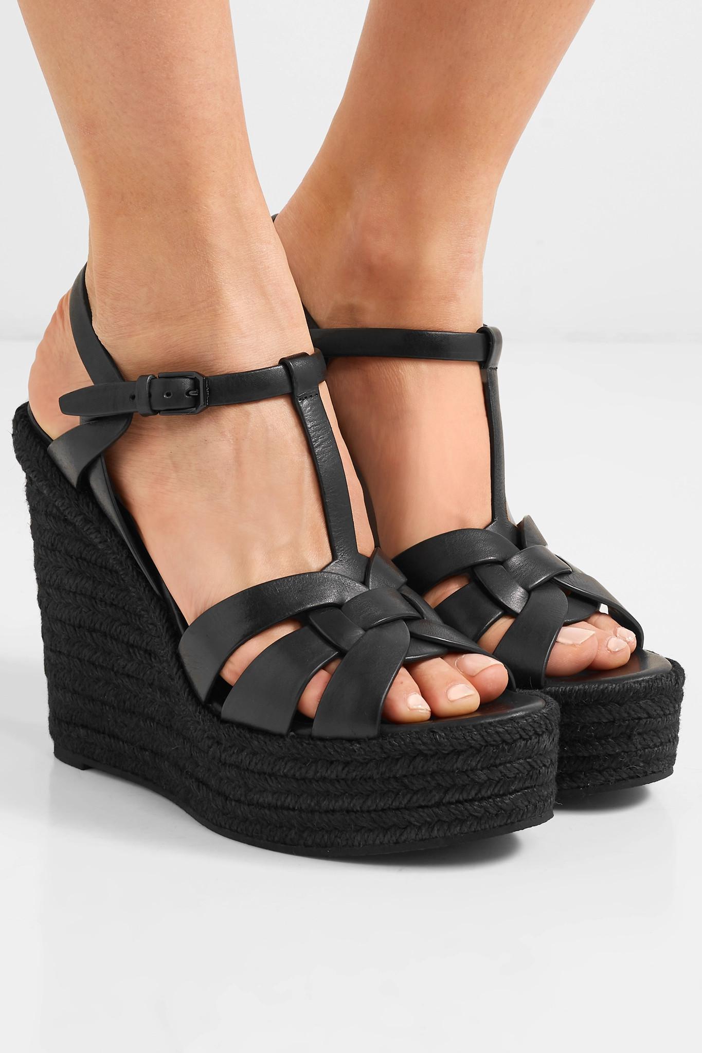 a978695b3702c Saint Laurent - Black Shoes Women - Lyst. View fullscreen