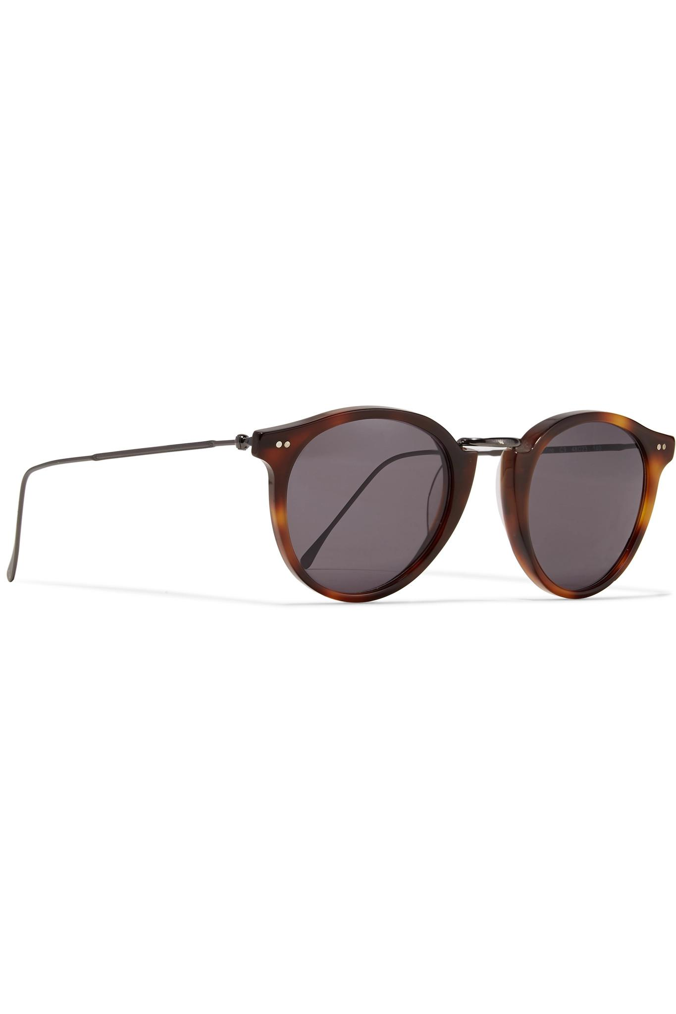 Cat-eye Tortoiseshell Acetate And Gold-tone Sunglasses - one size Rag & Bone ZavNS0