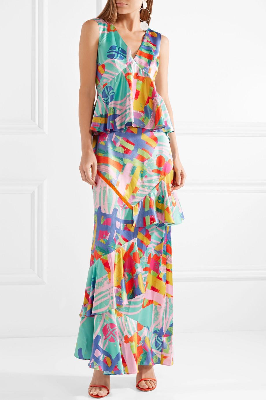huge discount df8de 09f90 house-of-holland-mint-Nova-Ruffled-Printed-Satin-Maxi-Dress.jpeg