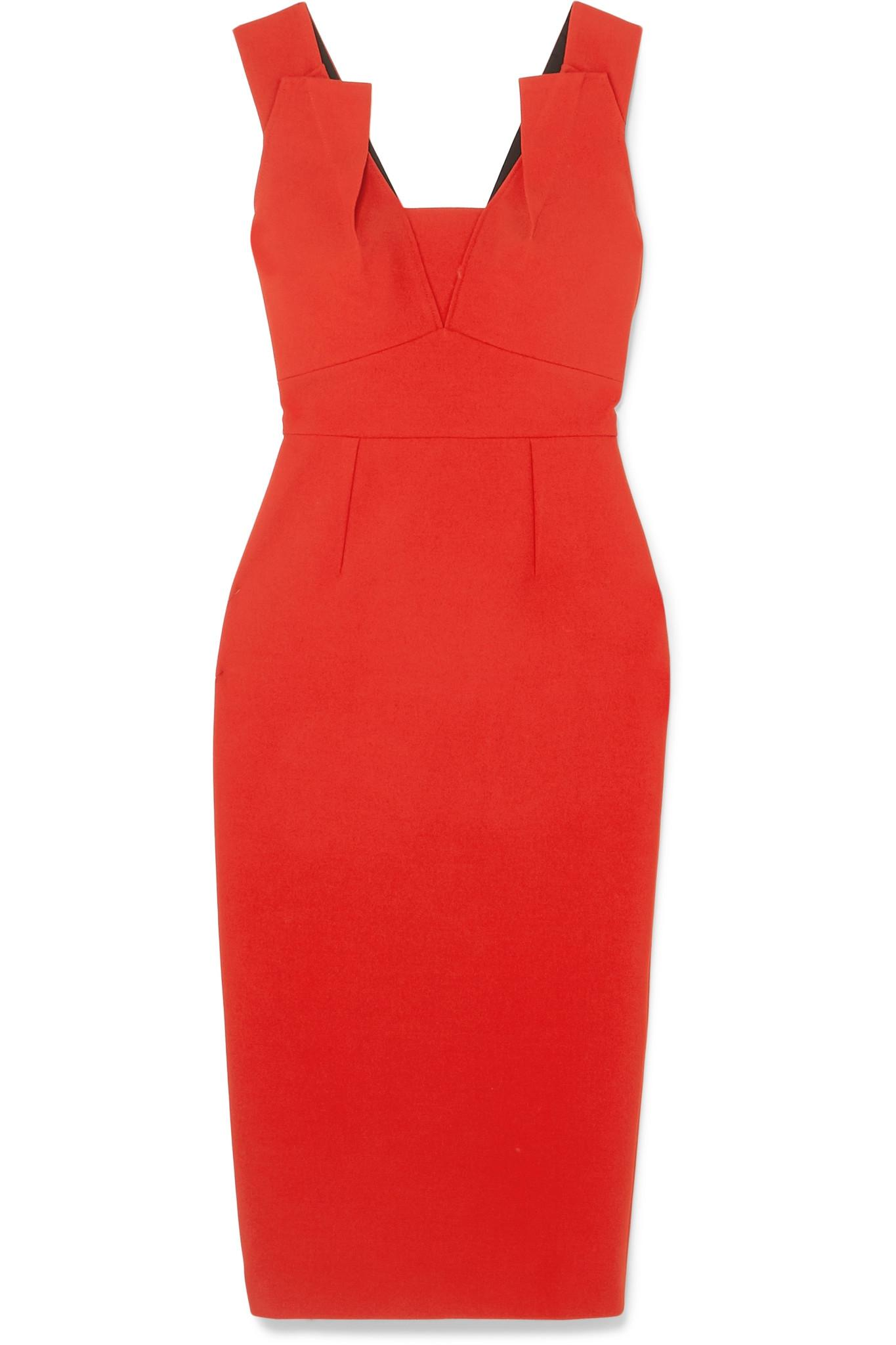 69c7e7d00c4fc Roland Mouret Coleby Dress in Red - Save 35% - Lyst