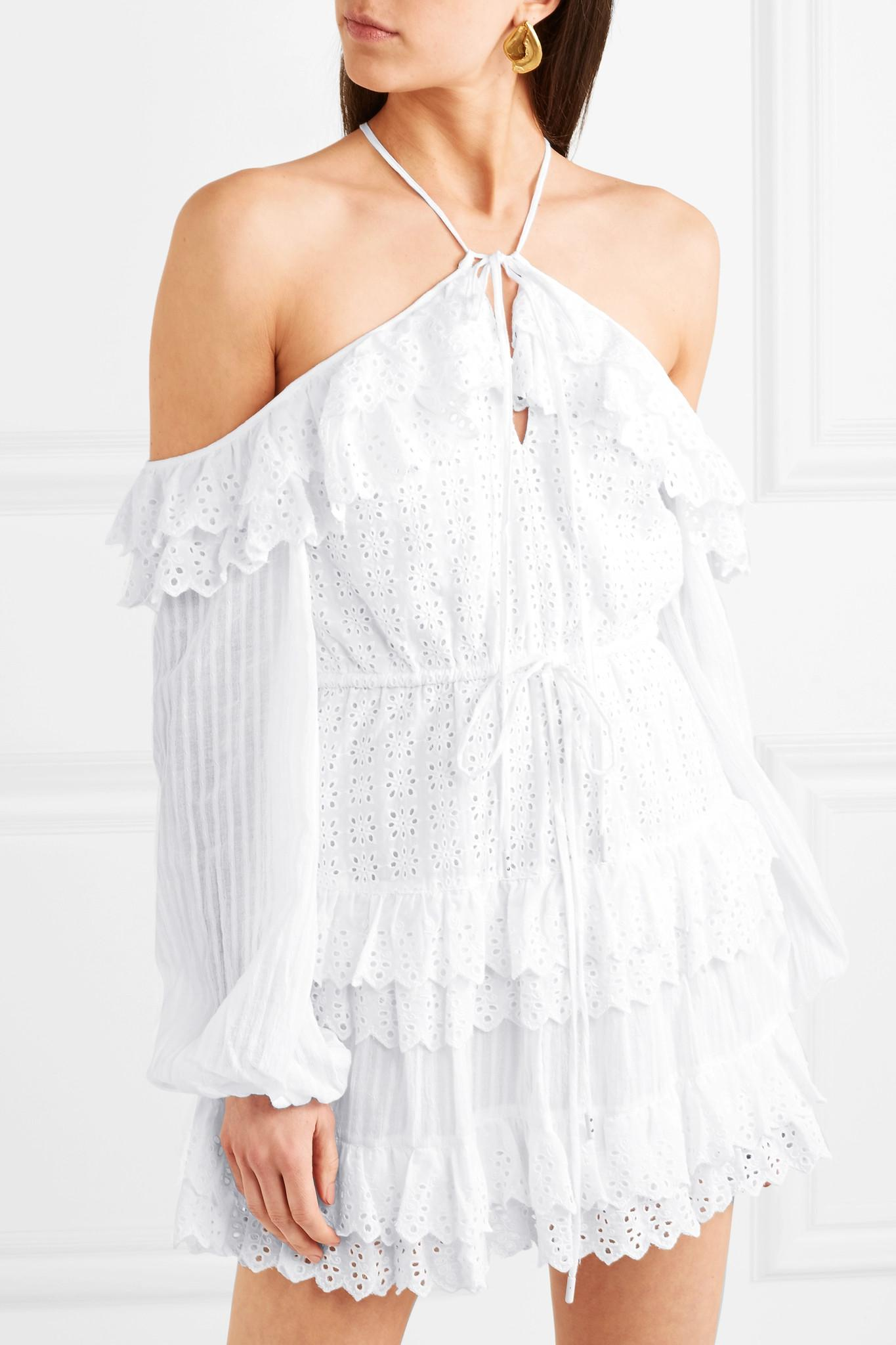Lover Of Mine Broderie Anglaise Cotton Mini Dress - White Alice McCall Sale Visit Discount 2018 Free Shipping Affordable Purchase Outlet Pre Order lXPIivg