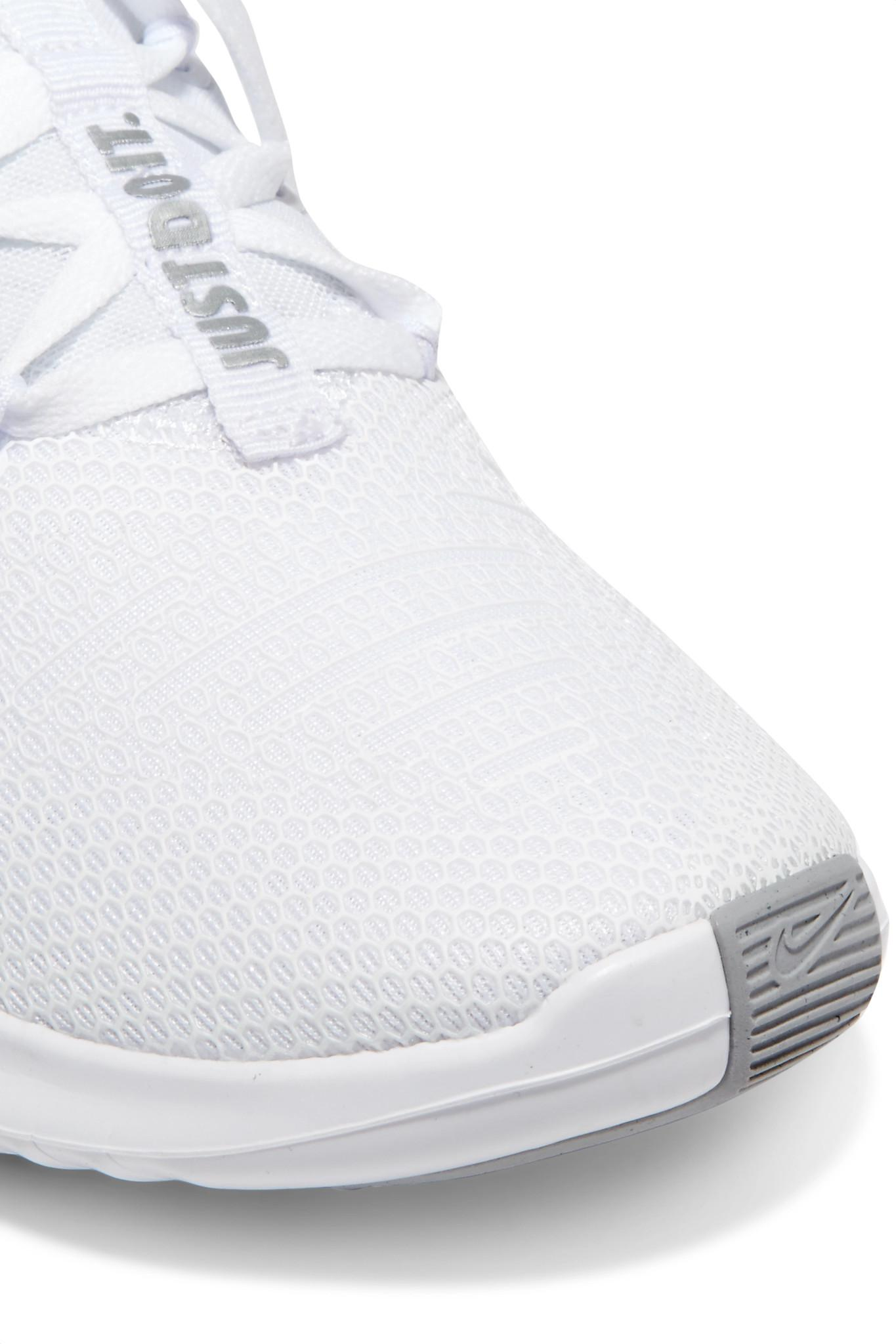 432dc20ba88f Lyst - Nike Free Tr 8 Stretch-knit And Mesh Sneakers in White