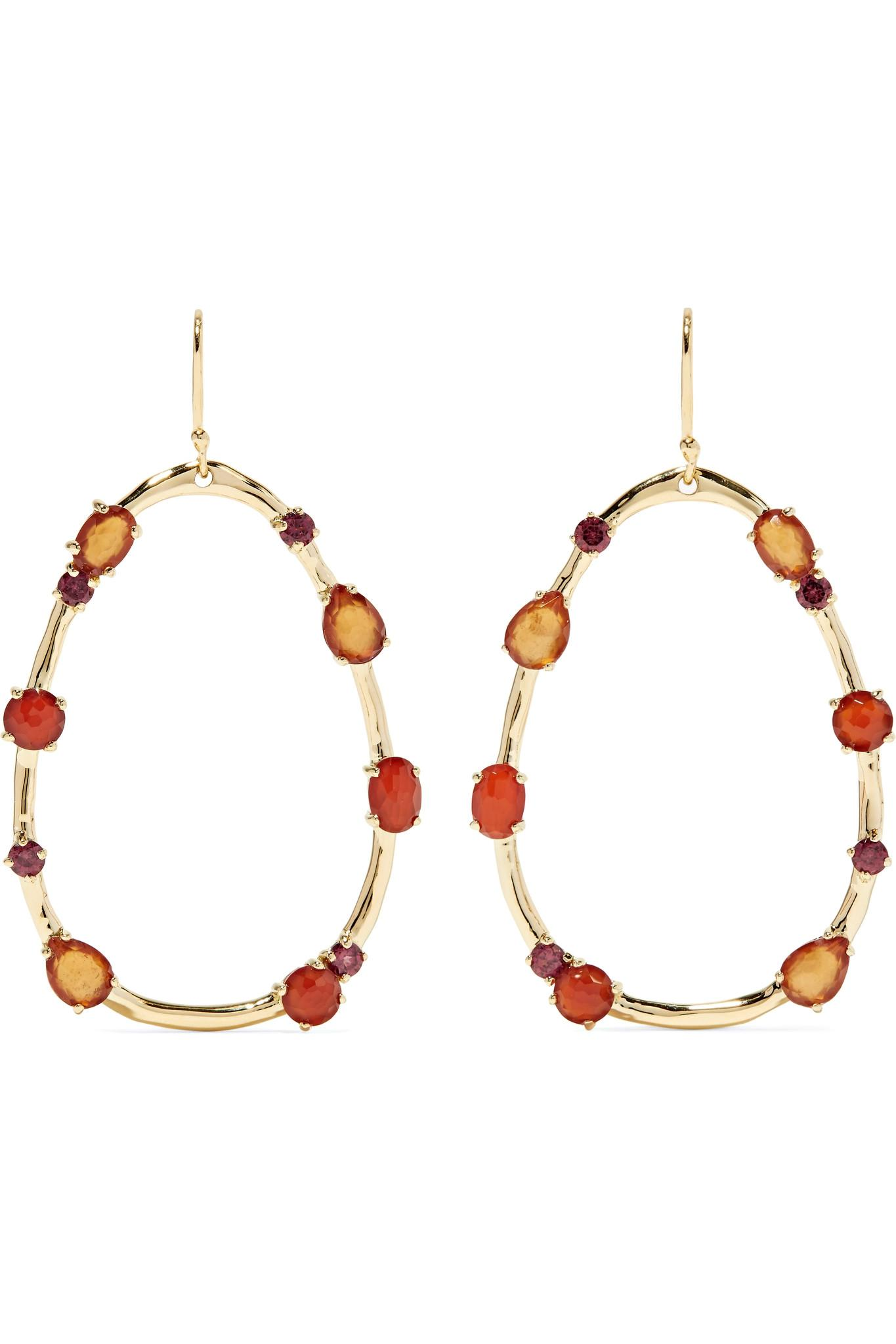 Ippolita Rock Candy 18-karat Gold Multi-stone Earrings UM2Jo71y1Q