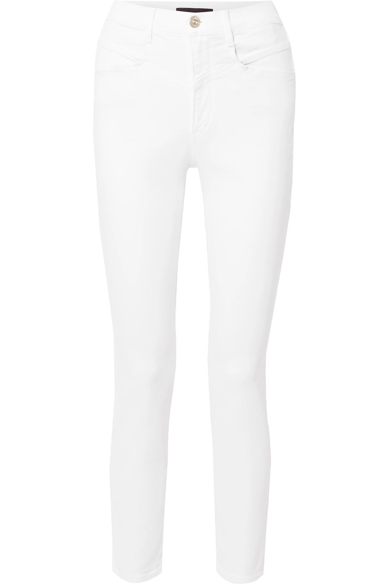 4c4fd6fee660 Lyst - 3x1 Jesse High-rise Skinny Jeans in White