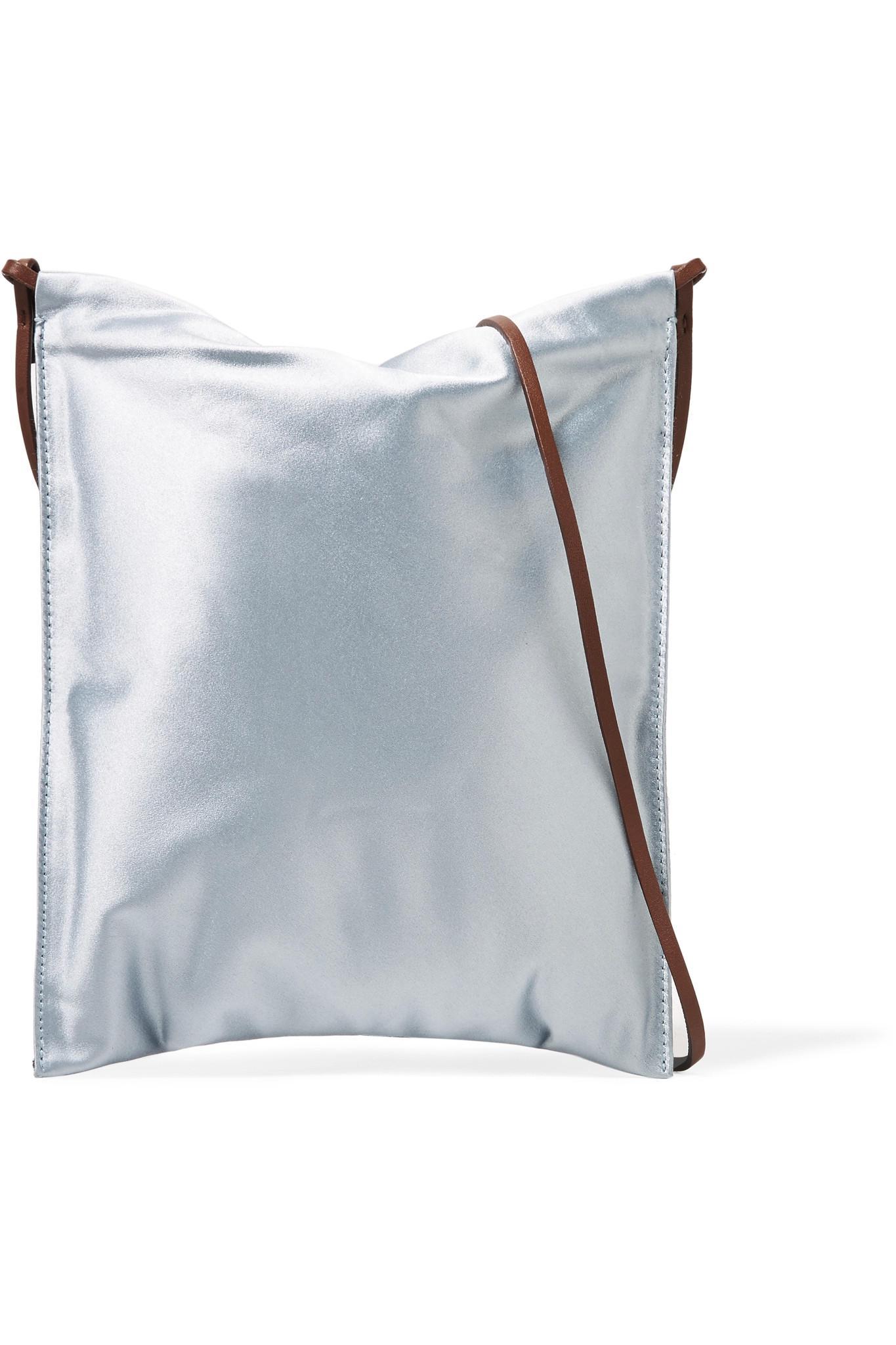 Medicine Satin Shoulder Bag - Light blue The Row EPfIIR