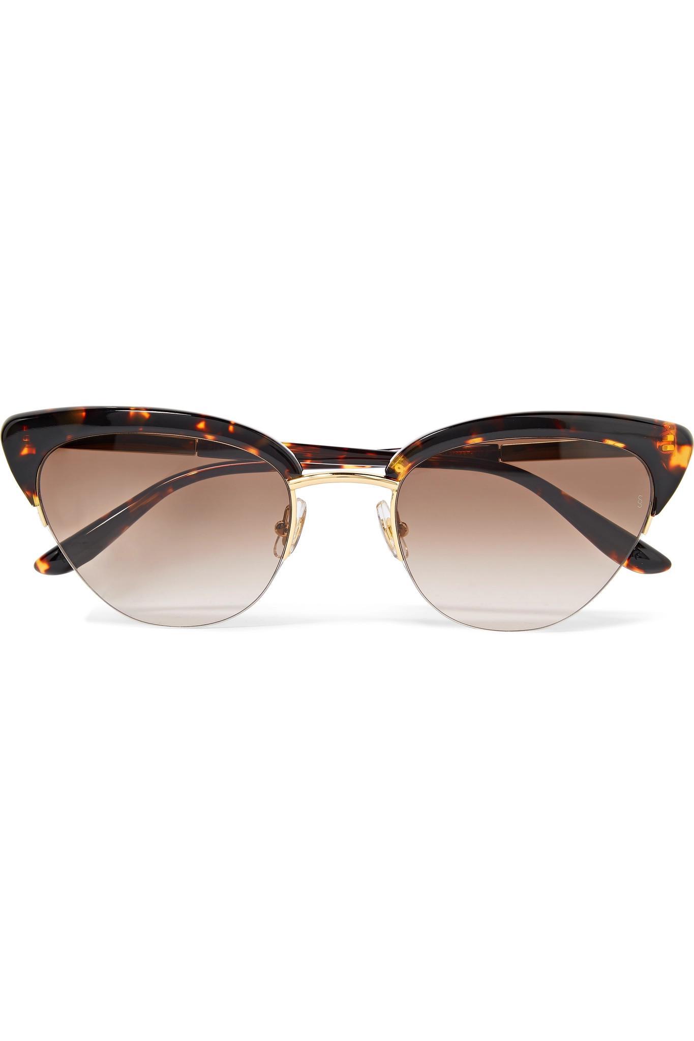 Piper Cat-eye Acetate Sunglasses - Peach Sunday Somewhere d4wpTooC