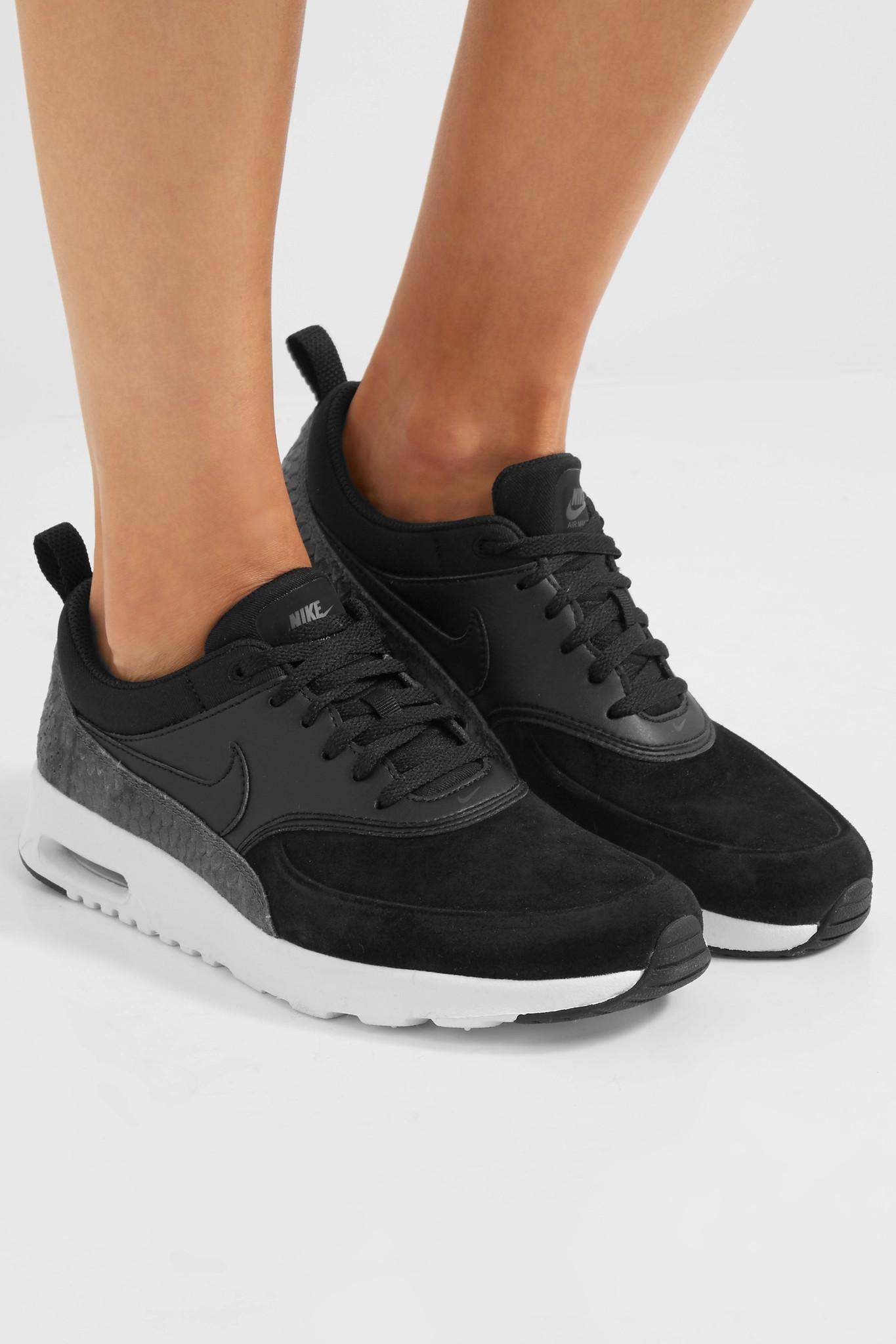 air max thea suede sneakers
