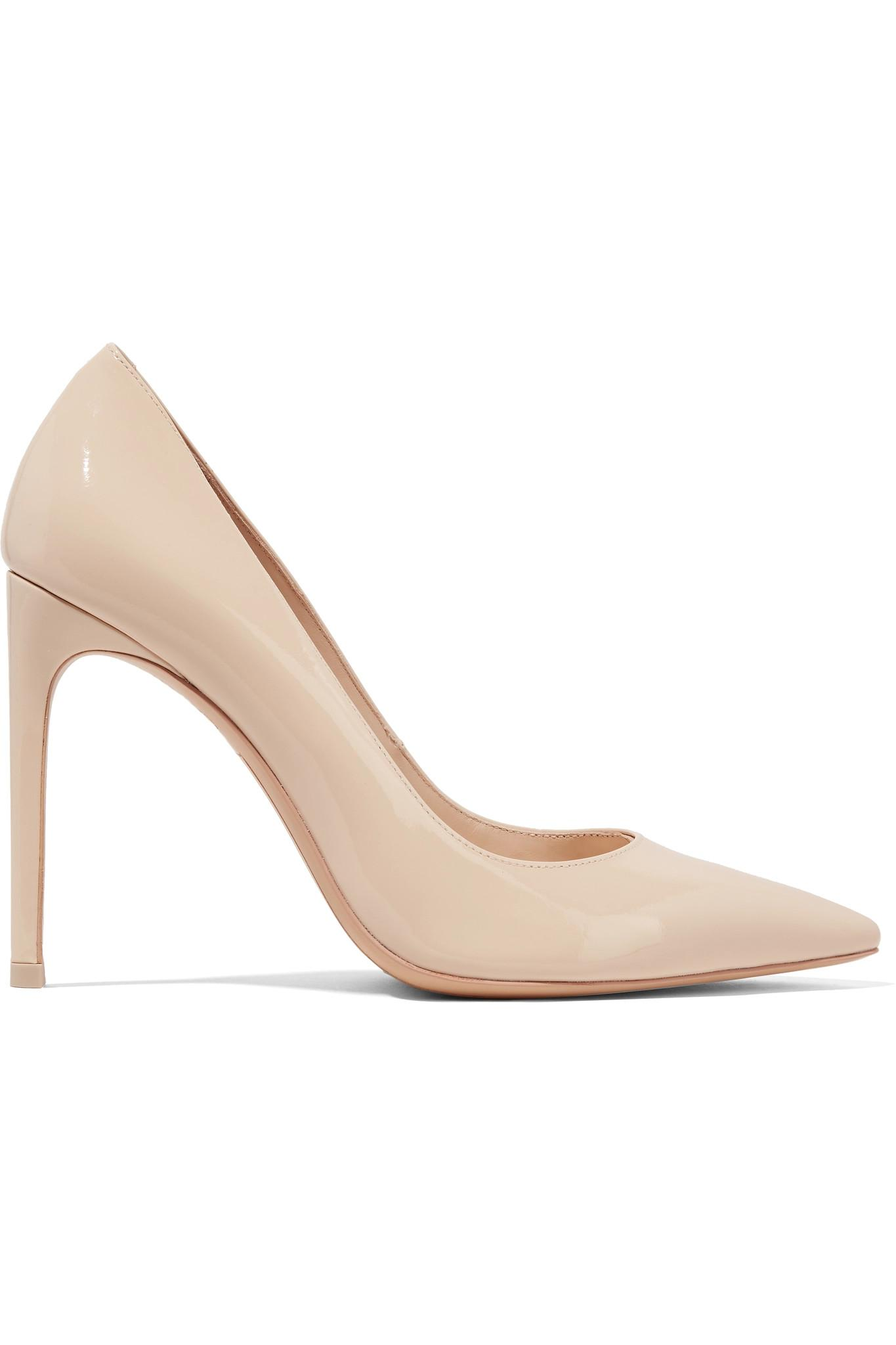 6c96ed3e165 Lyst - Sophia Webster Rio Patent-leather Pumps in Natural