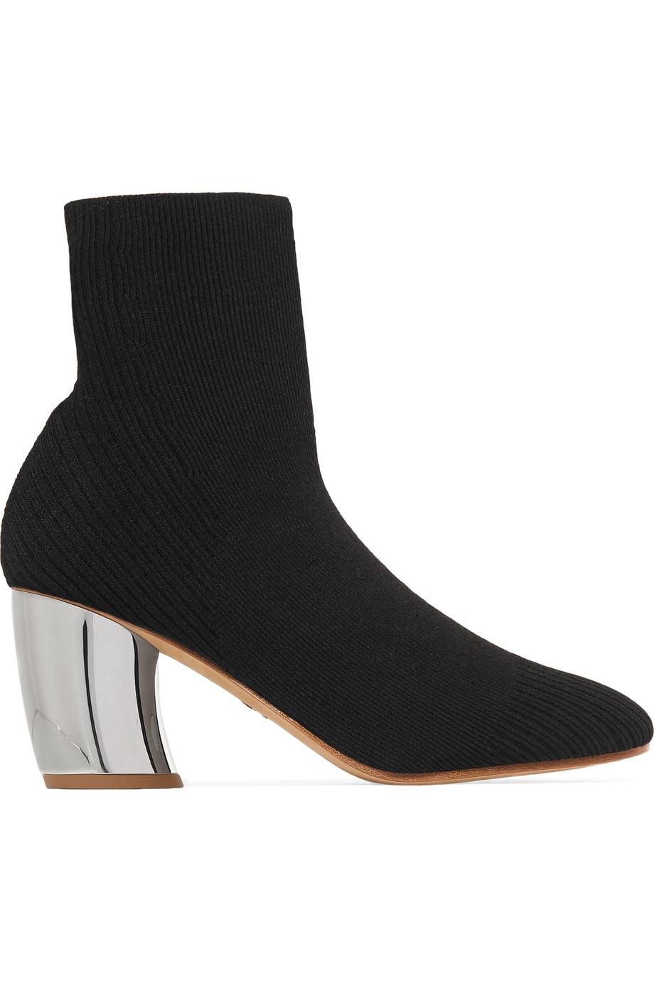 Proenza Schouler Ribbed Sock Booties