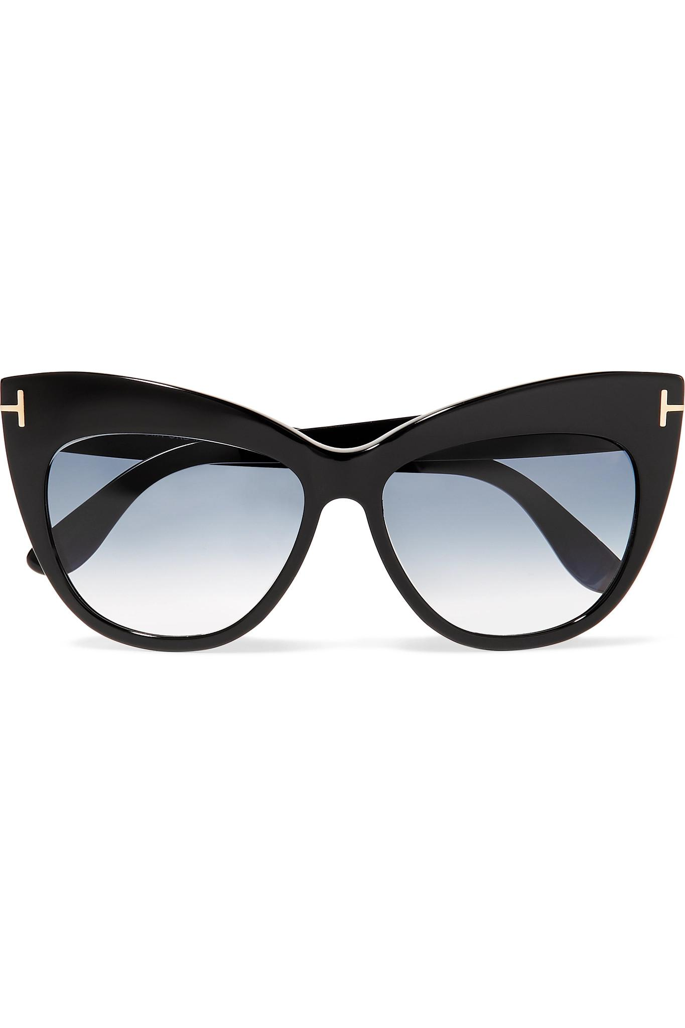 174462a981a68 Gallery. Previously sold at  NET-A-PORTER · Women s Tom Ford Cat Eye  Women s Acetate Sunglasses ...