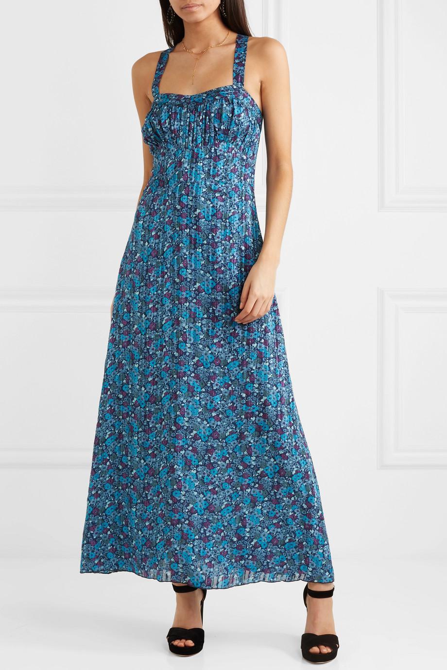 Incense and Joy camisole dress - Blue Anna Sui uNELNK