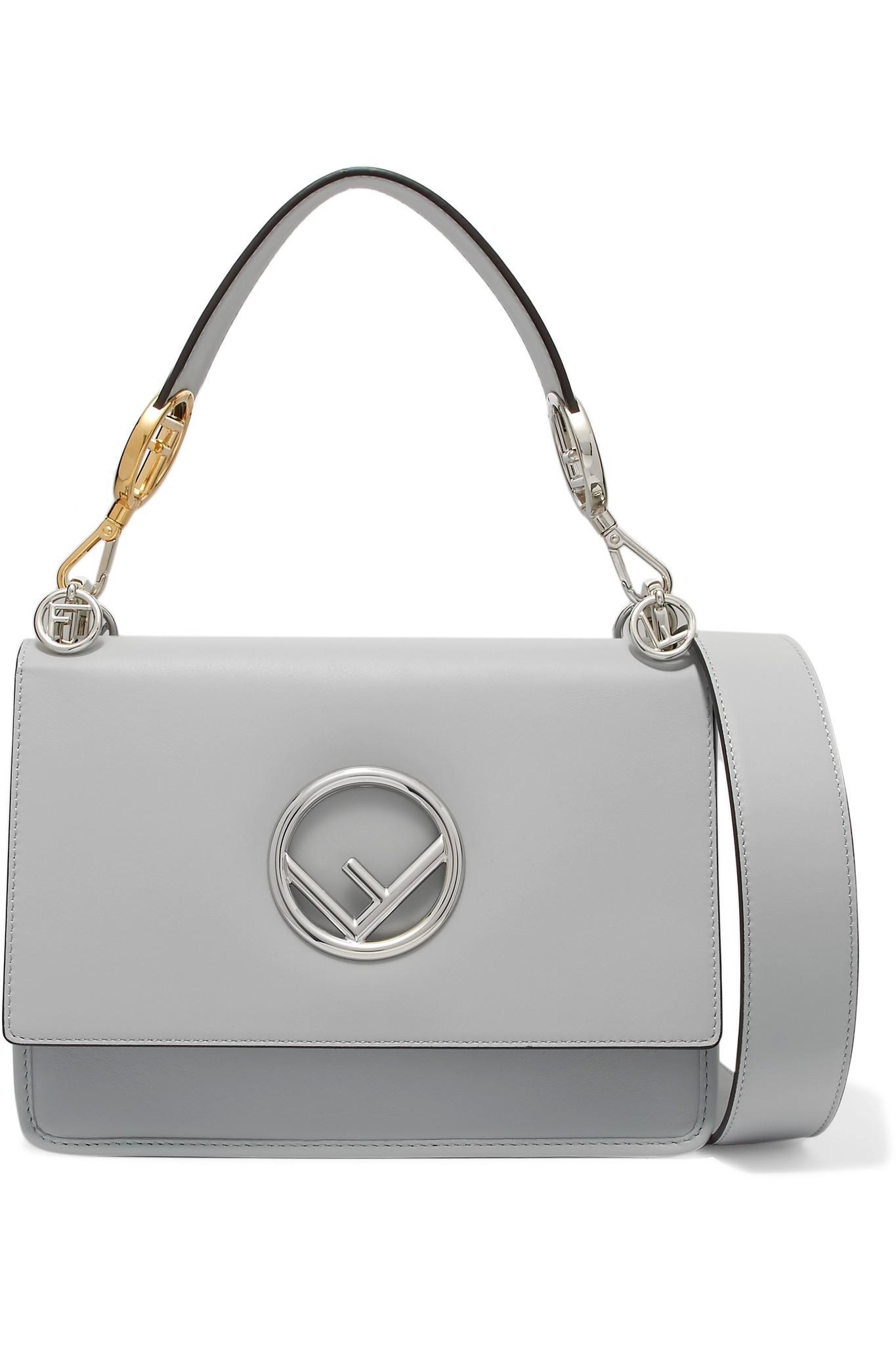 Fendi. Women s Kan I Leather Shoulder Bag 83c3c035f999e