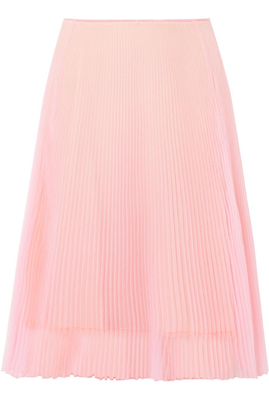 Plissé-organza Skirt - Black Prada Cheap Price Low Shipping Fee Perfect Sale Online Perfect Online Buy Cheap Best Place Fast Shipping ZuKn34vbp
