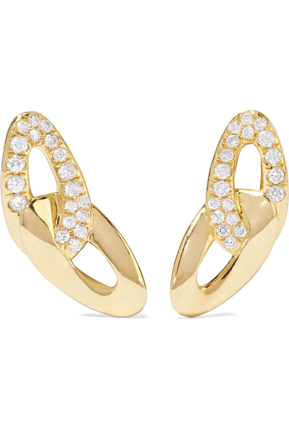 Ippolita Cherish 18-karat Gold Earrings dC53JB3M