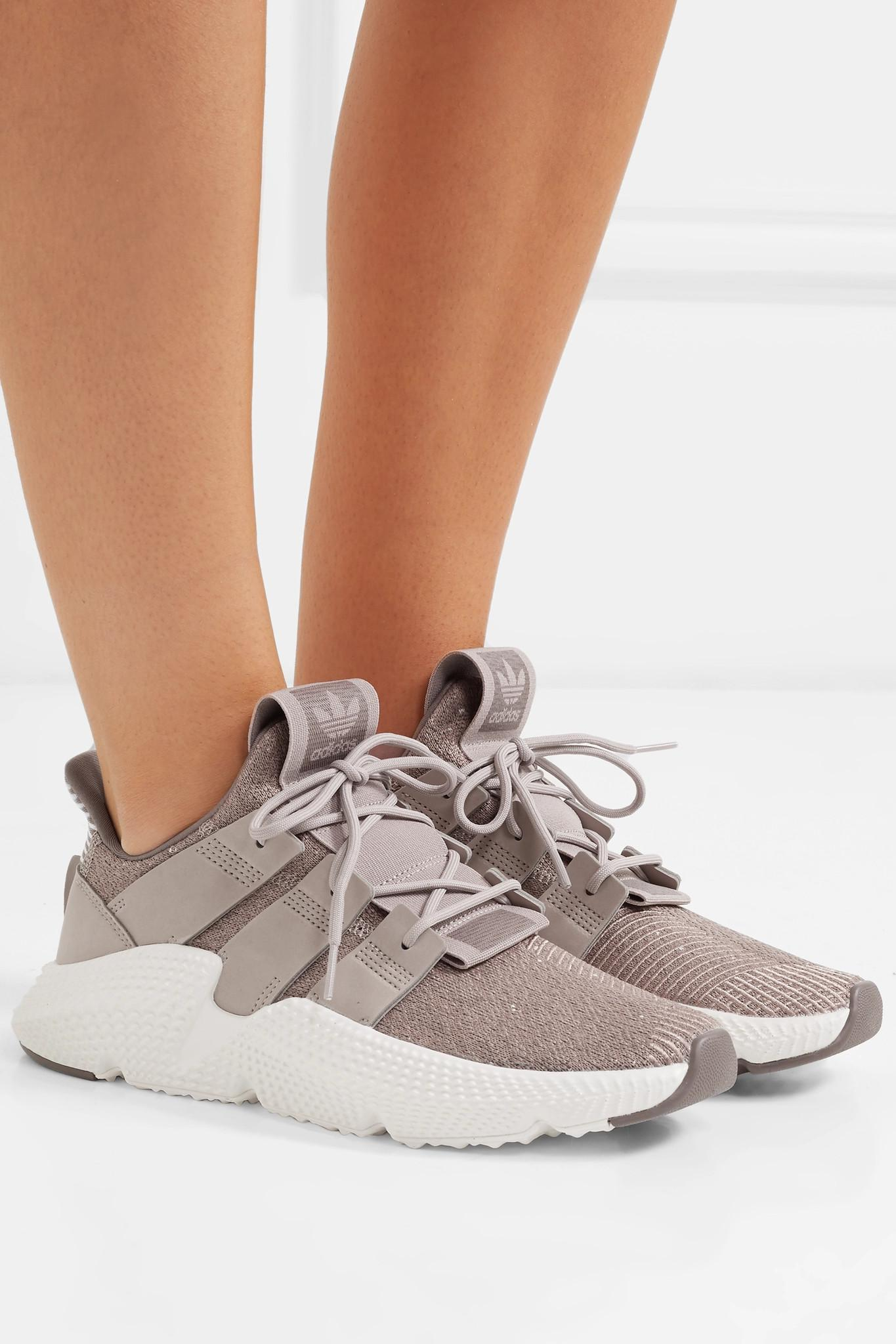 adidas Originals Prophere Stretch-knit Sneakers - Lyst db3d8ce4a
