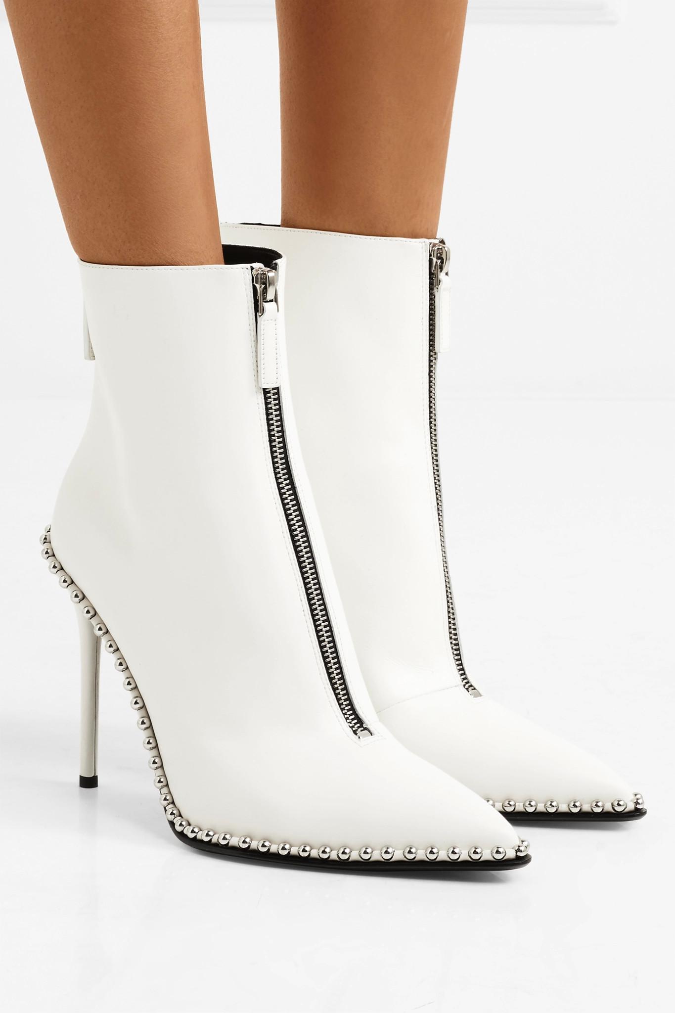 Alexander Wang White Eri Low Boots cheap sale low price sale Manchester cheap under $60 sale cheap online JavVdt