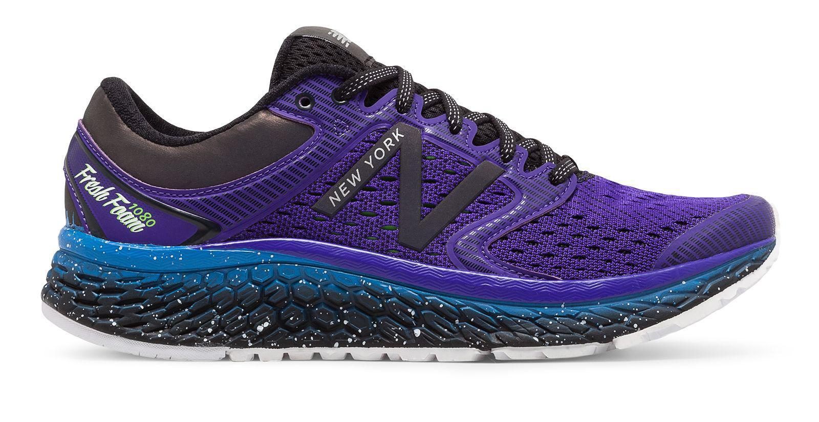 best service 2d178 84154 New Balance Fresh Foam 1080v7 Nyc Half in Purple - Lyst