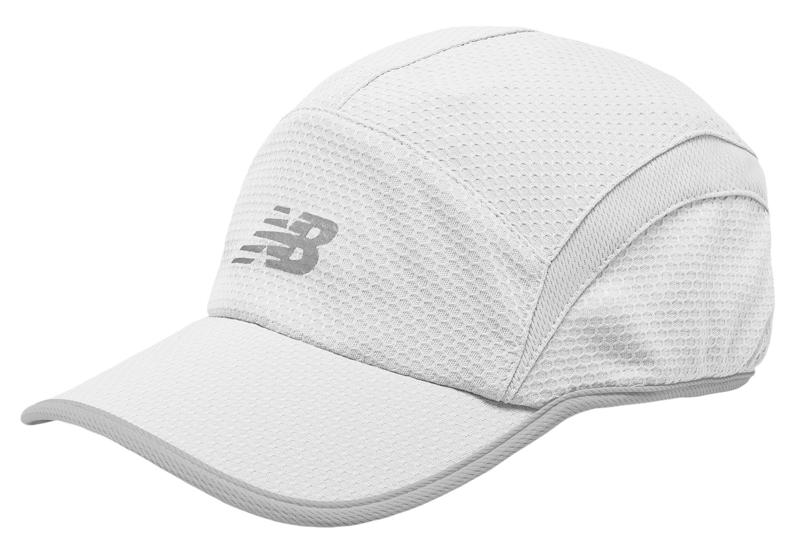 Lyst - New Balance 5 Panel Performance Hat in White for Men 19aff9afaef