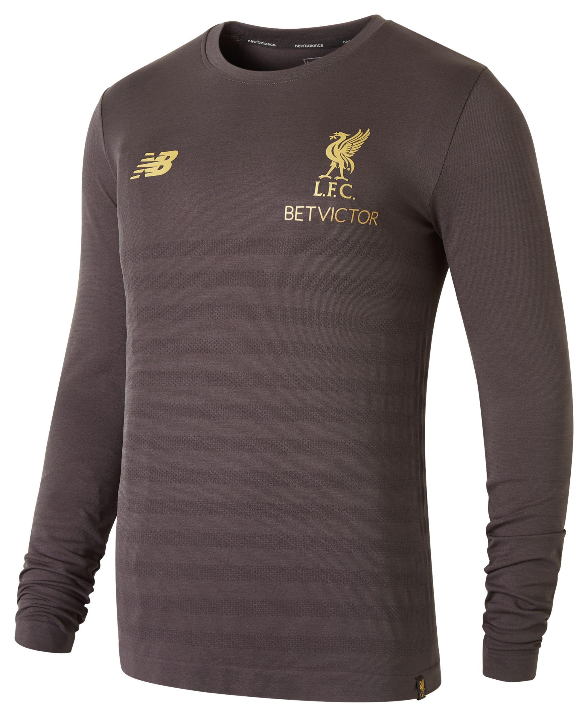 8c0a71fff New Balance New Balance Liverpool Fc Managers Long Sleeve Seamless ...