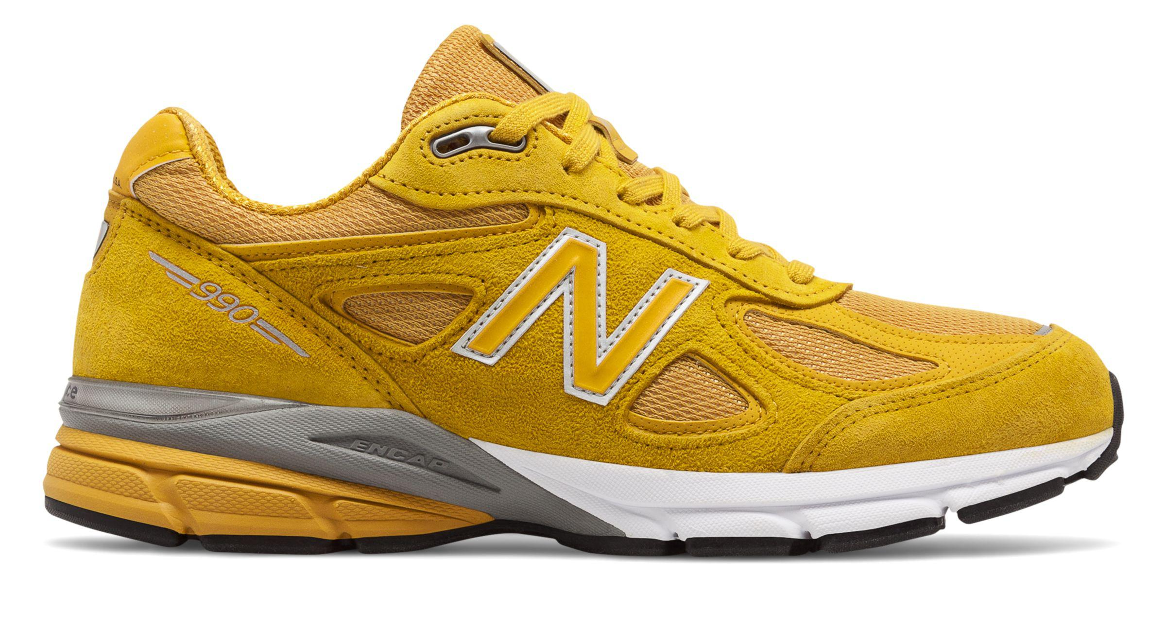 Lyst New Balance 990v4 In Yellow For Men