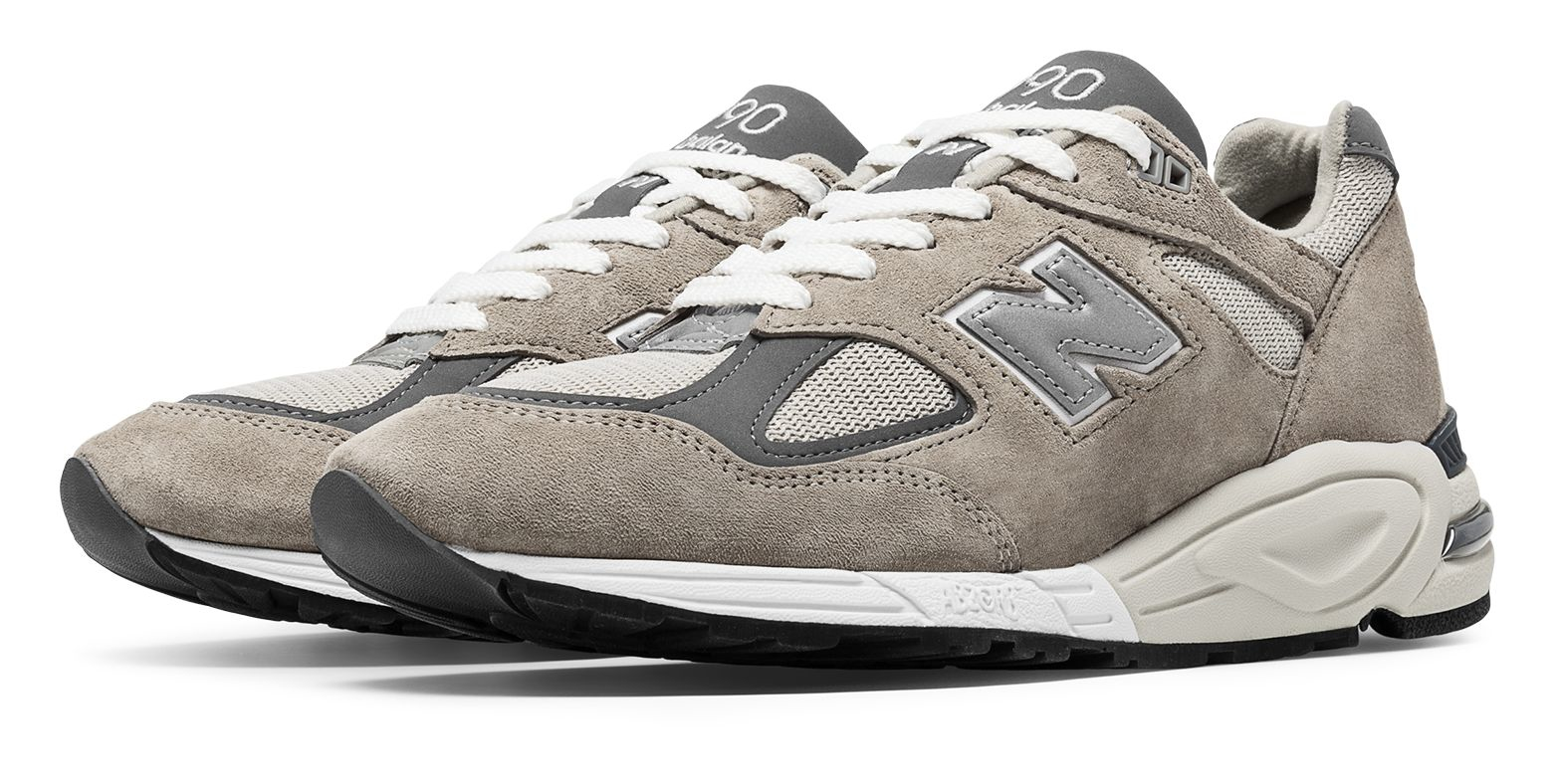 Lyst New Balance 990v2 Made In The Usa Bringback In Gray