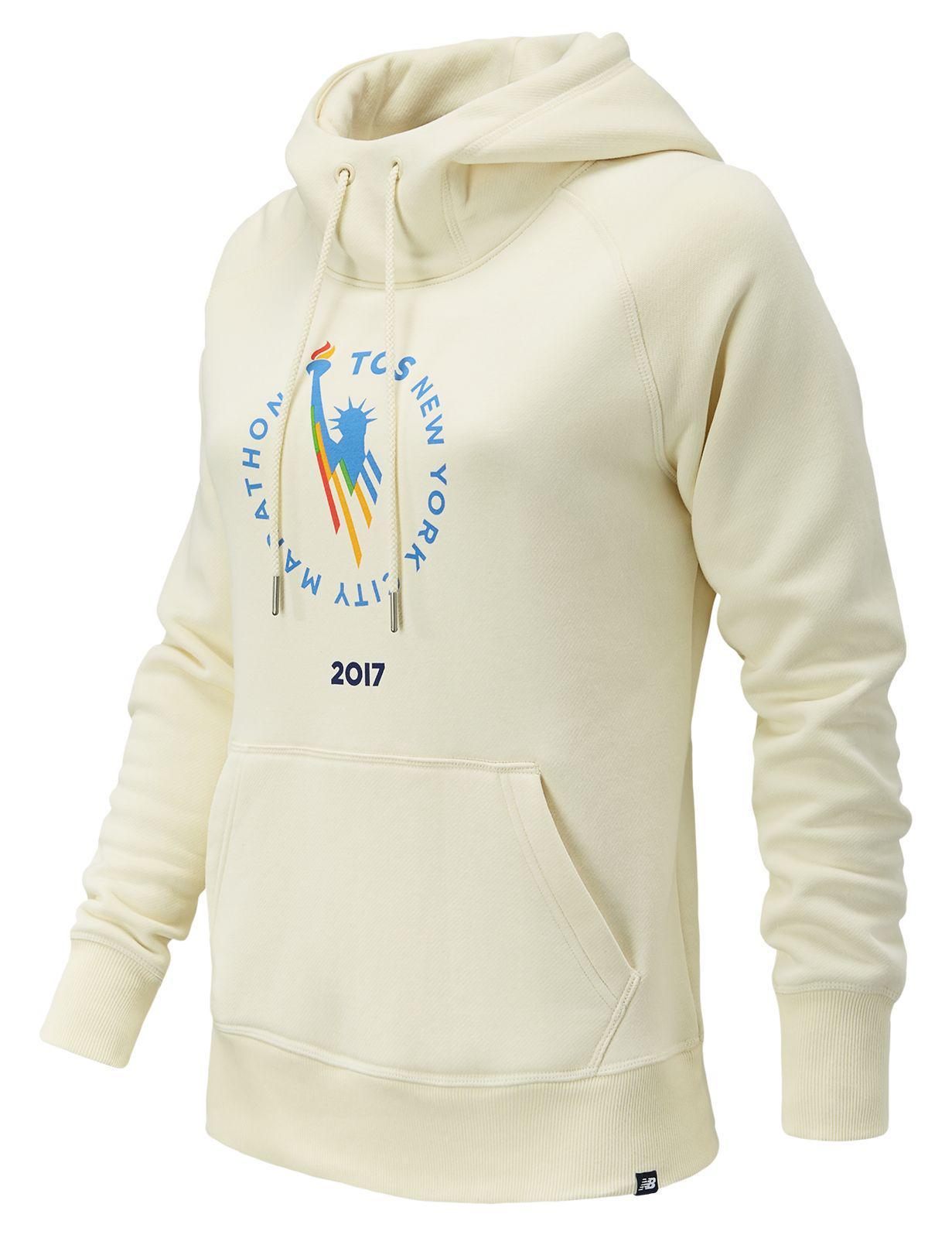 6af49a21cc45b New Balance Nyc Marathon Essentials Pullover Hoodie - Lyst