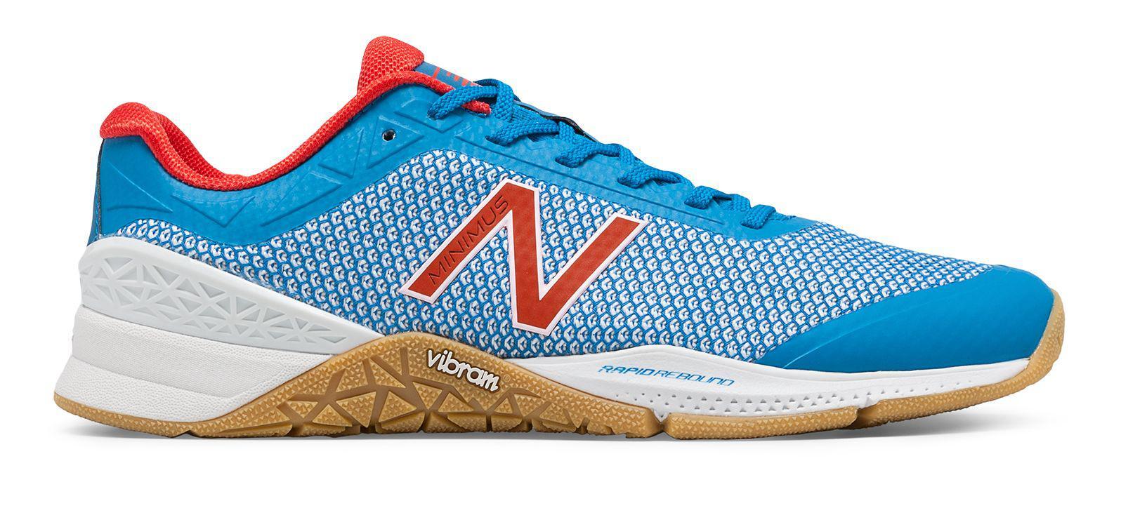 New Balance. Men's Blue Minimus 40 Trainer