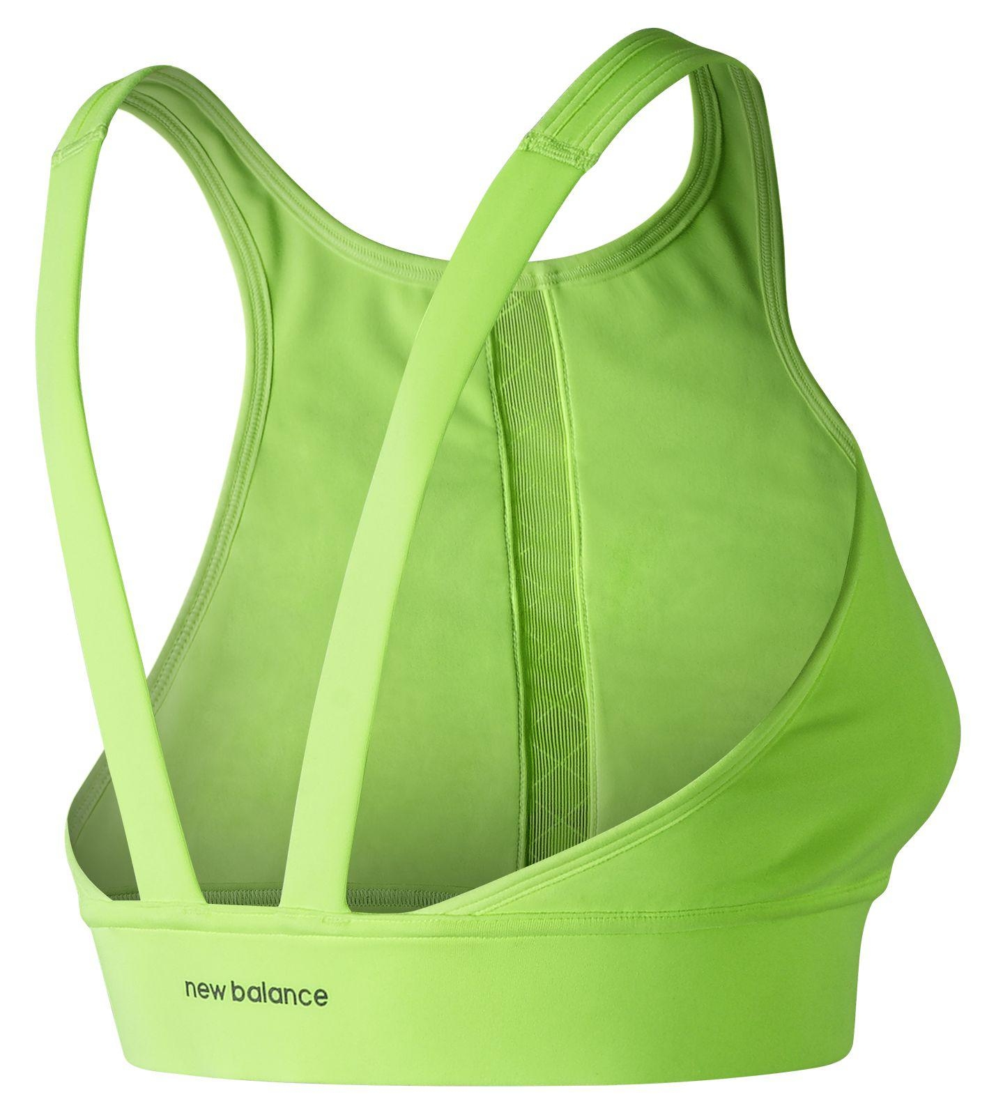 940c7925048ab New Balance - Green Nb Beyond Bra - Lyst. View fullscreen