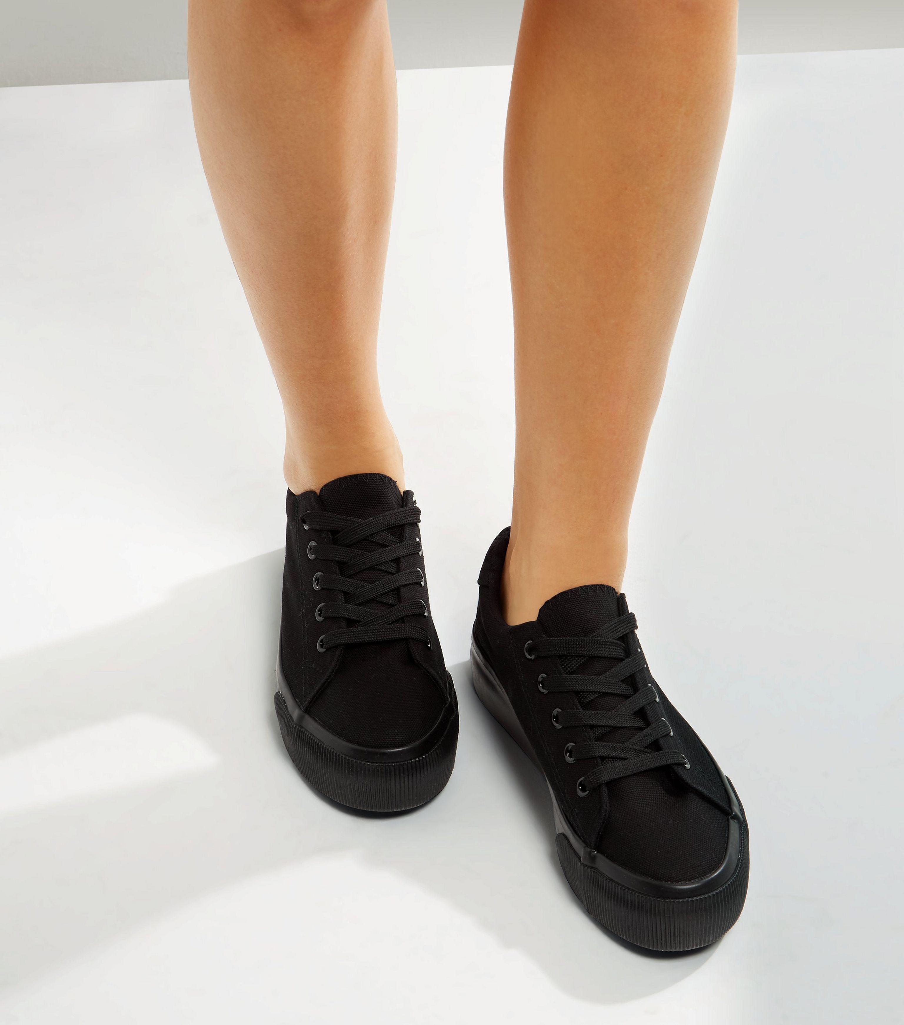 Trainers In Black - Black New Look iQ5XbkO