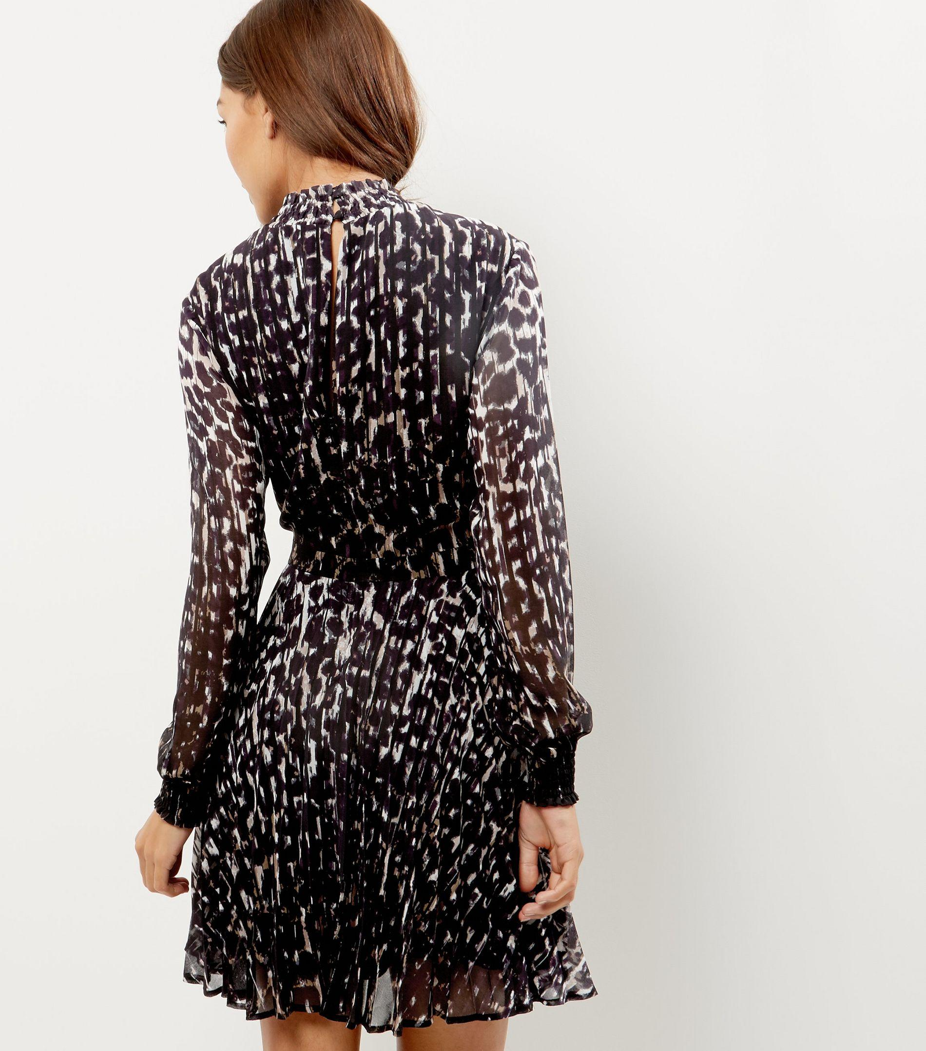 New look leopard print dress - New look, Leopard print, light weight, thin, dress, size 12 hardly worn.