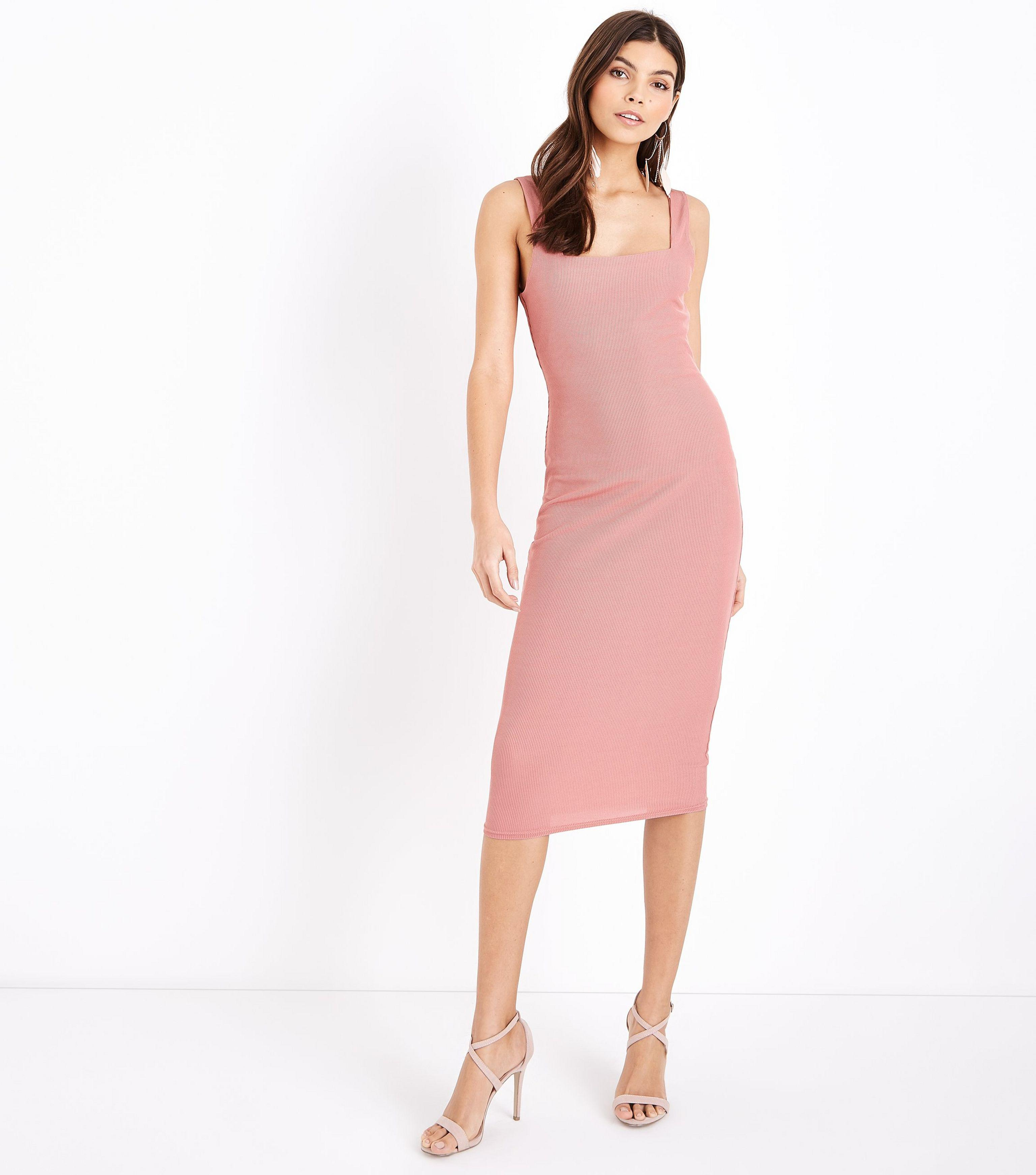 43ff4769a7f Gallery. Previously sold at  New Look · Women s Pink Dresses