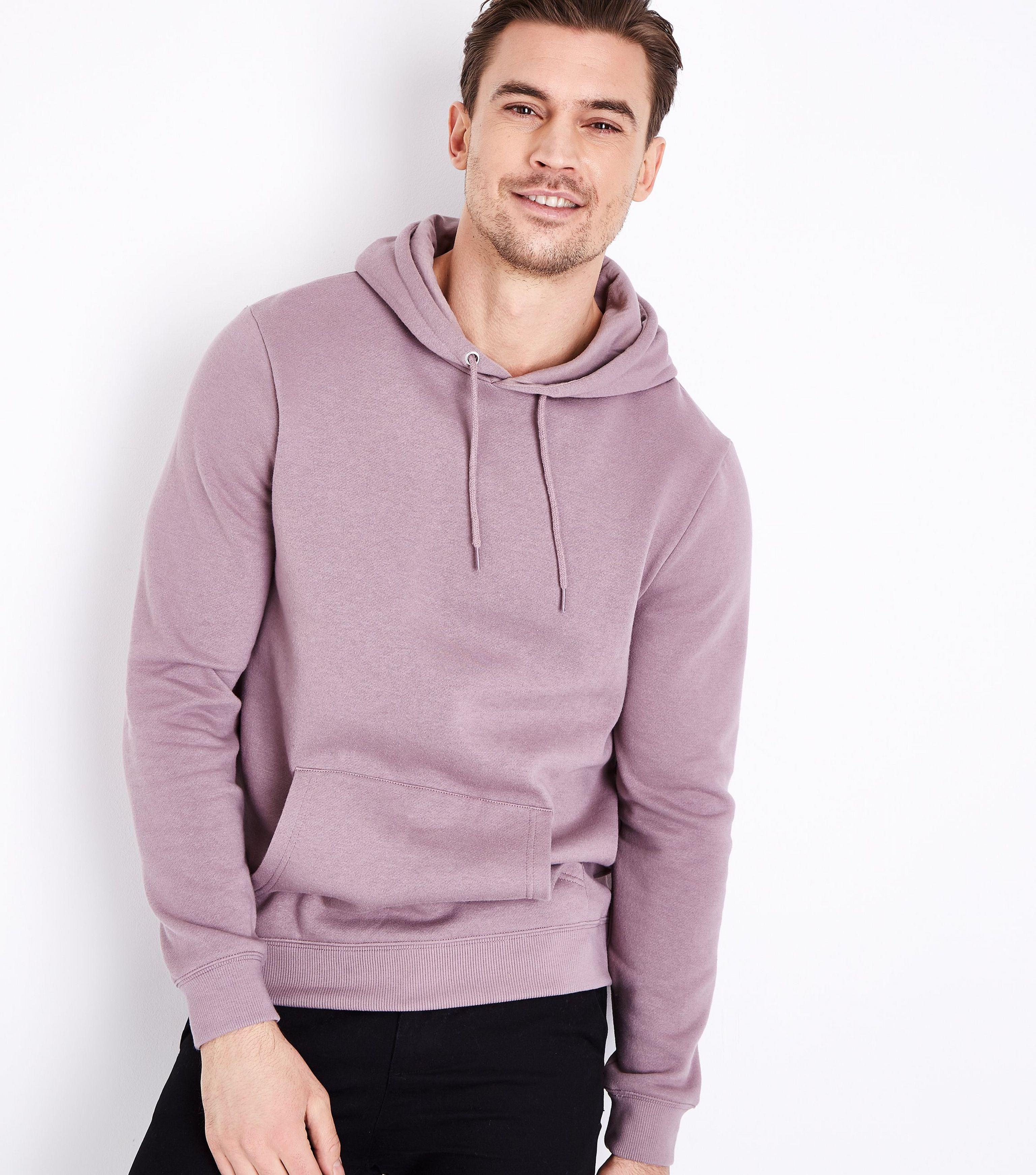New Look Lilac Pocket Front Hoodie in Purple for Men - Lyst 9fd75bb28f
